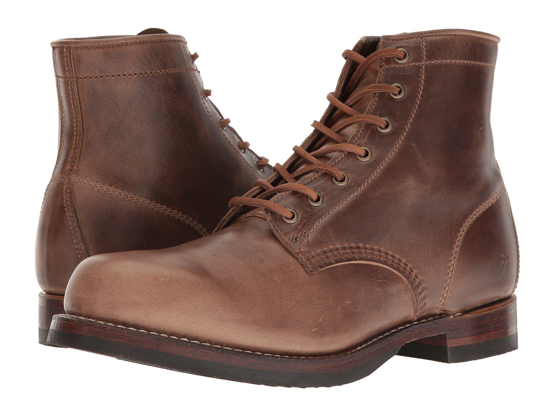 d806151d8c4 Frye. Brown John Addison Lace-up (black Waterproof Smooth Pull Up) Men s  Boots