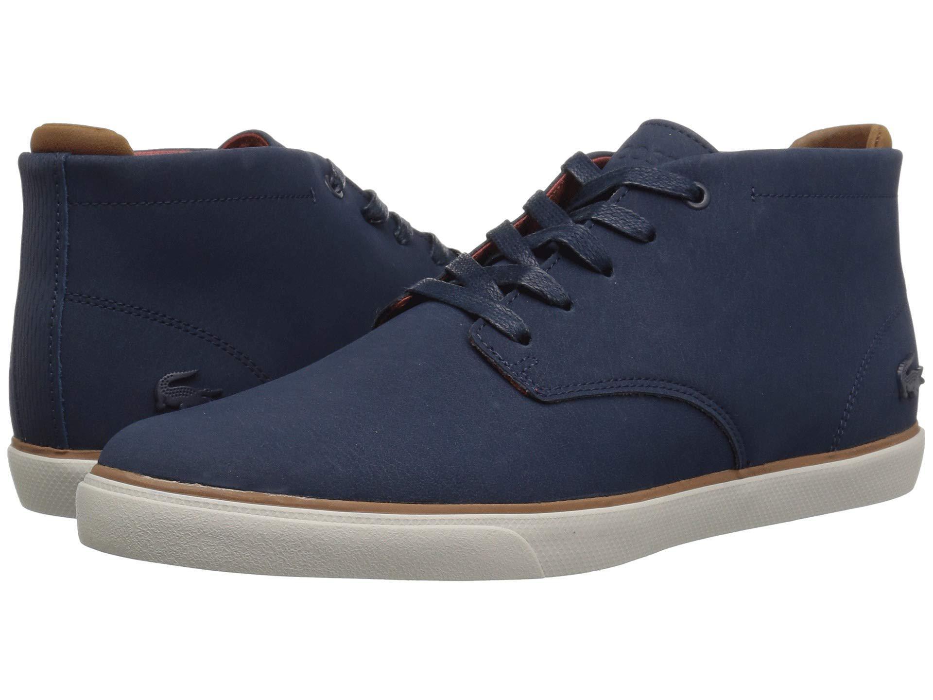 18b1231c7d98 Lyst - Lacoste Esparre Chukka 318 1 (navy brown) Men s Shoes in Blue ...