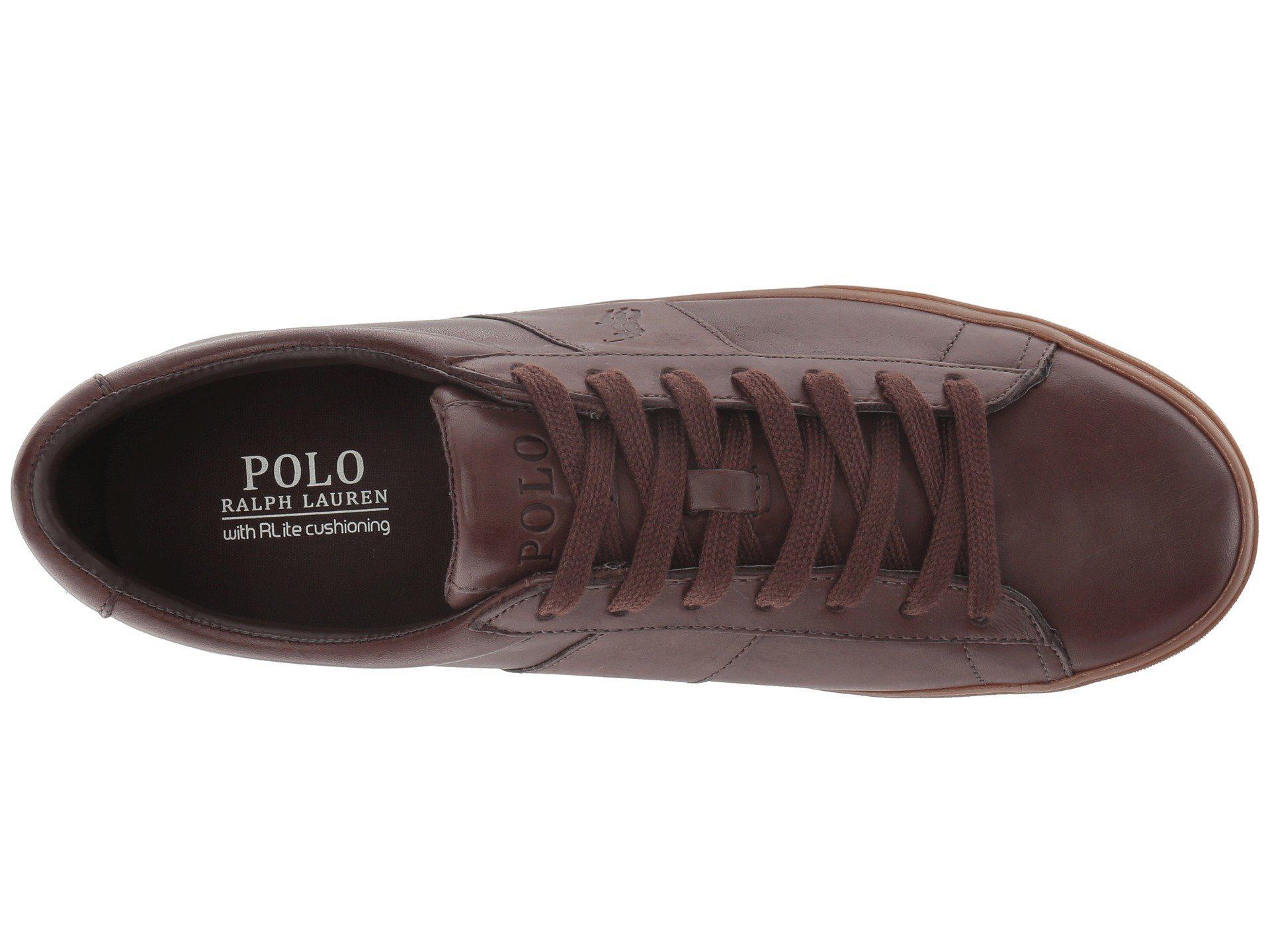 a40dd47a4c6 Lyst - Polo Ralph Lauren Sayer (black black) Men s Shoes in Brown ...