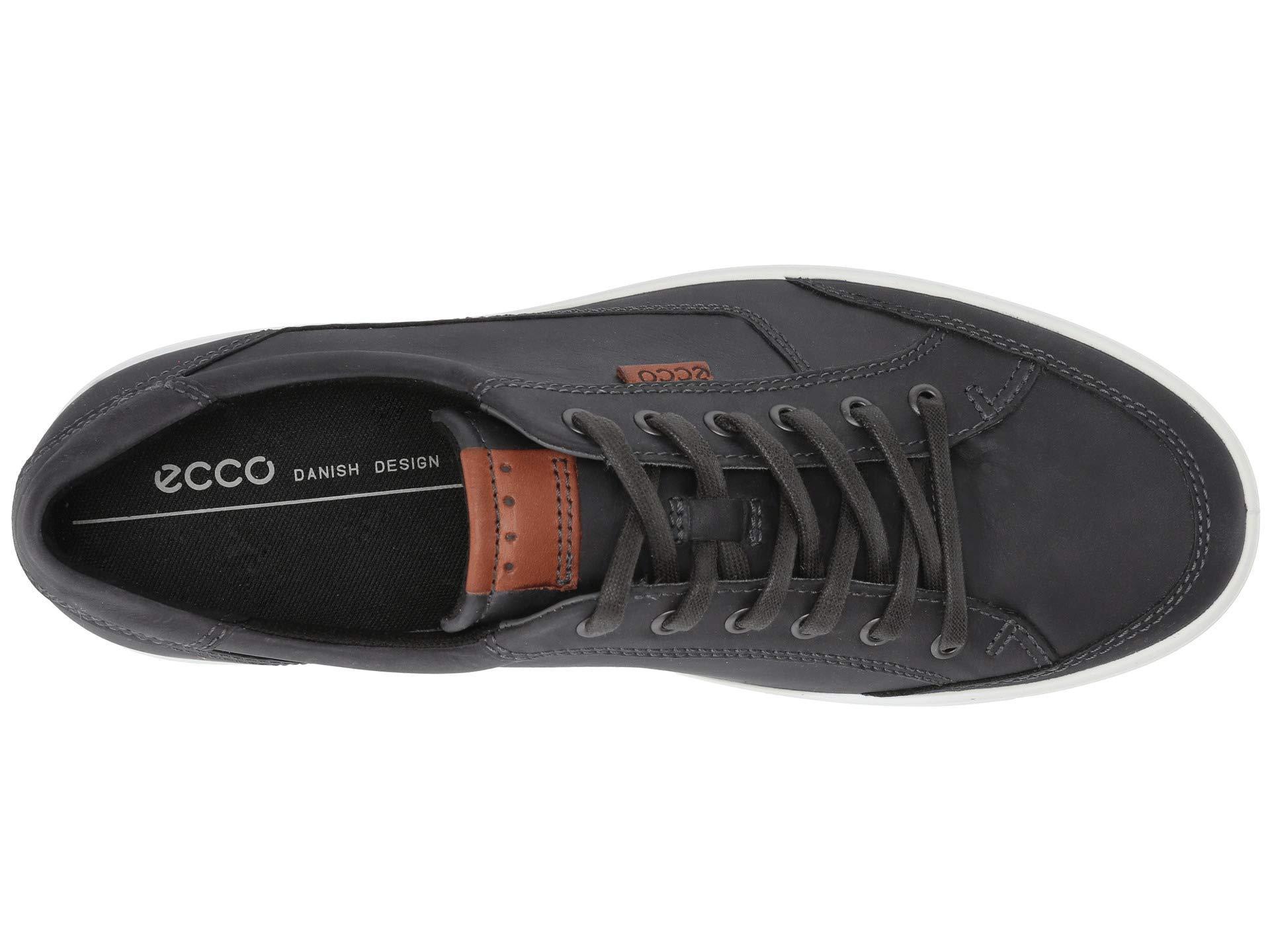 Ecco Leather Soft Retro Sneaker in