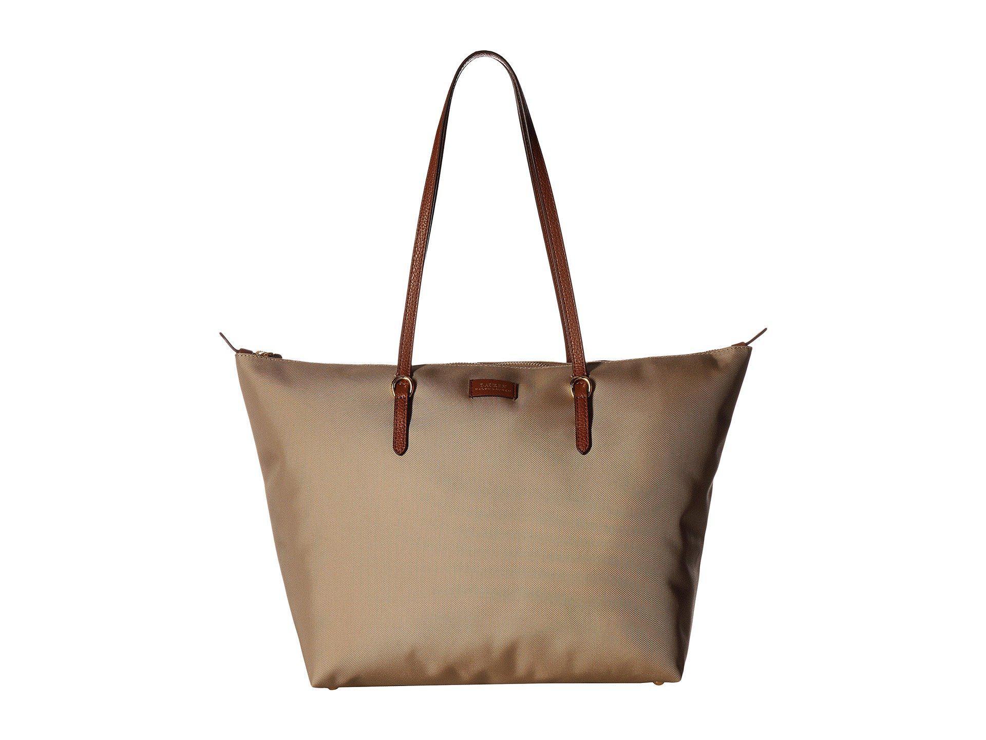 95e295b58a Lauren by Ralph Lauren. Women s Brown Chadwick Tote Medium (black) Tote  Handbags