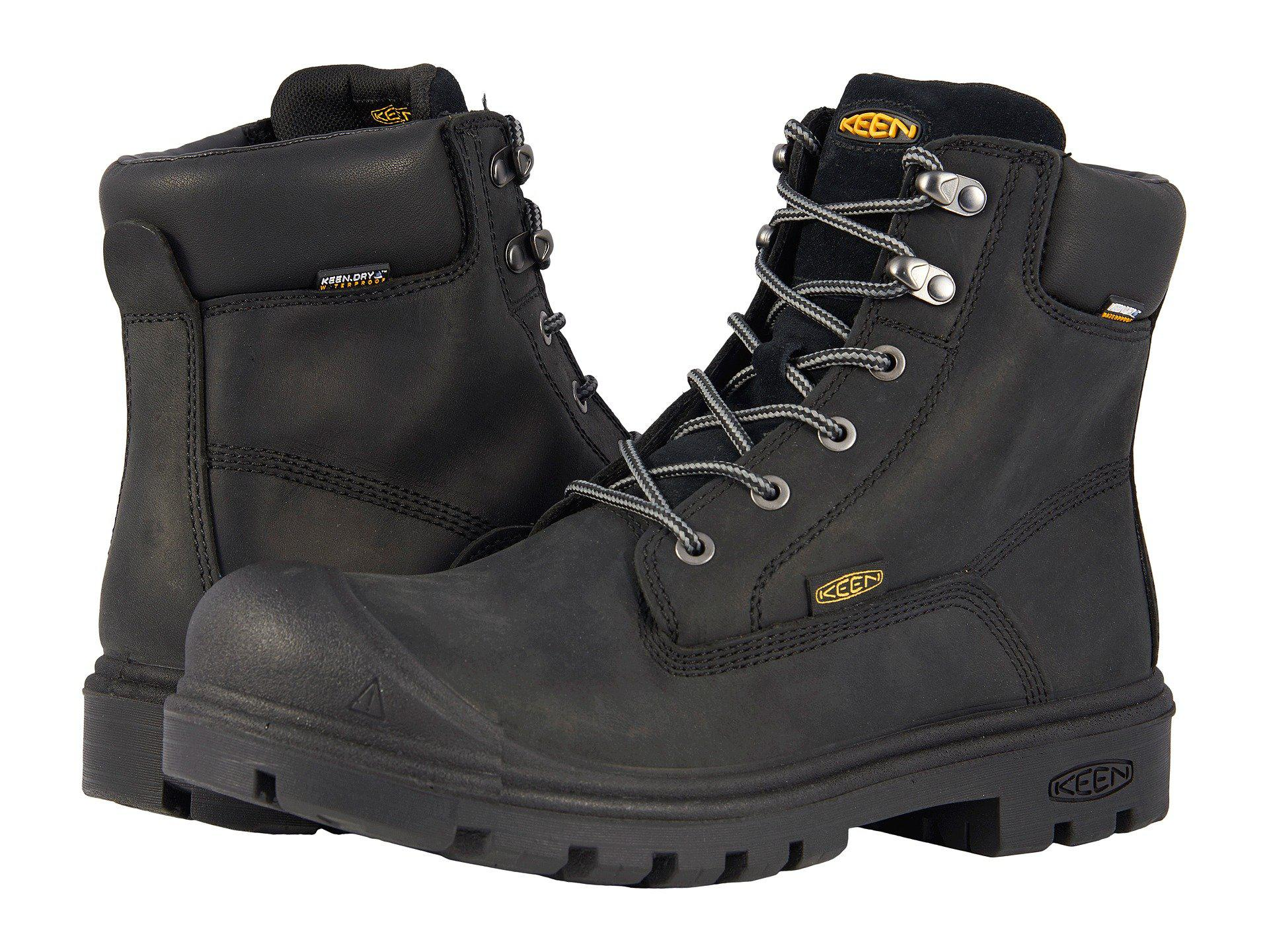 Lyst Keen Utility Baltimore 6 Quot Wp Steel Toe In Black For Men