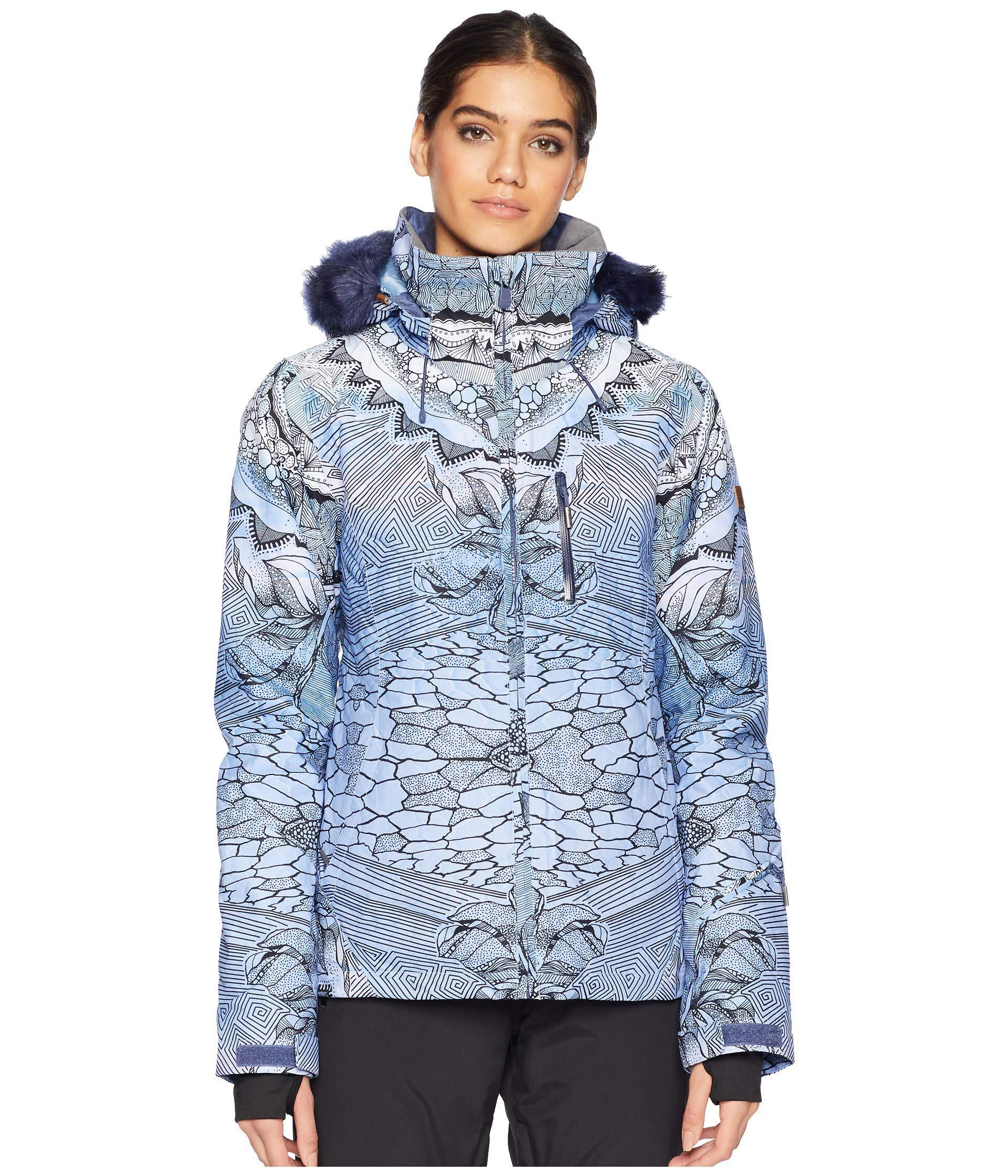 3da9413be0 Roxy Jet Ski Premium 15k Jacket (crown Blue Freezeland) Coat