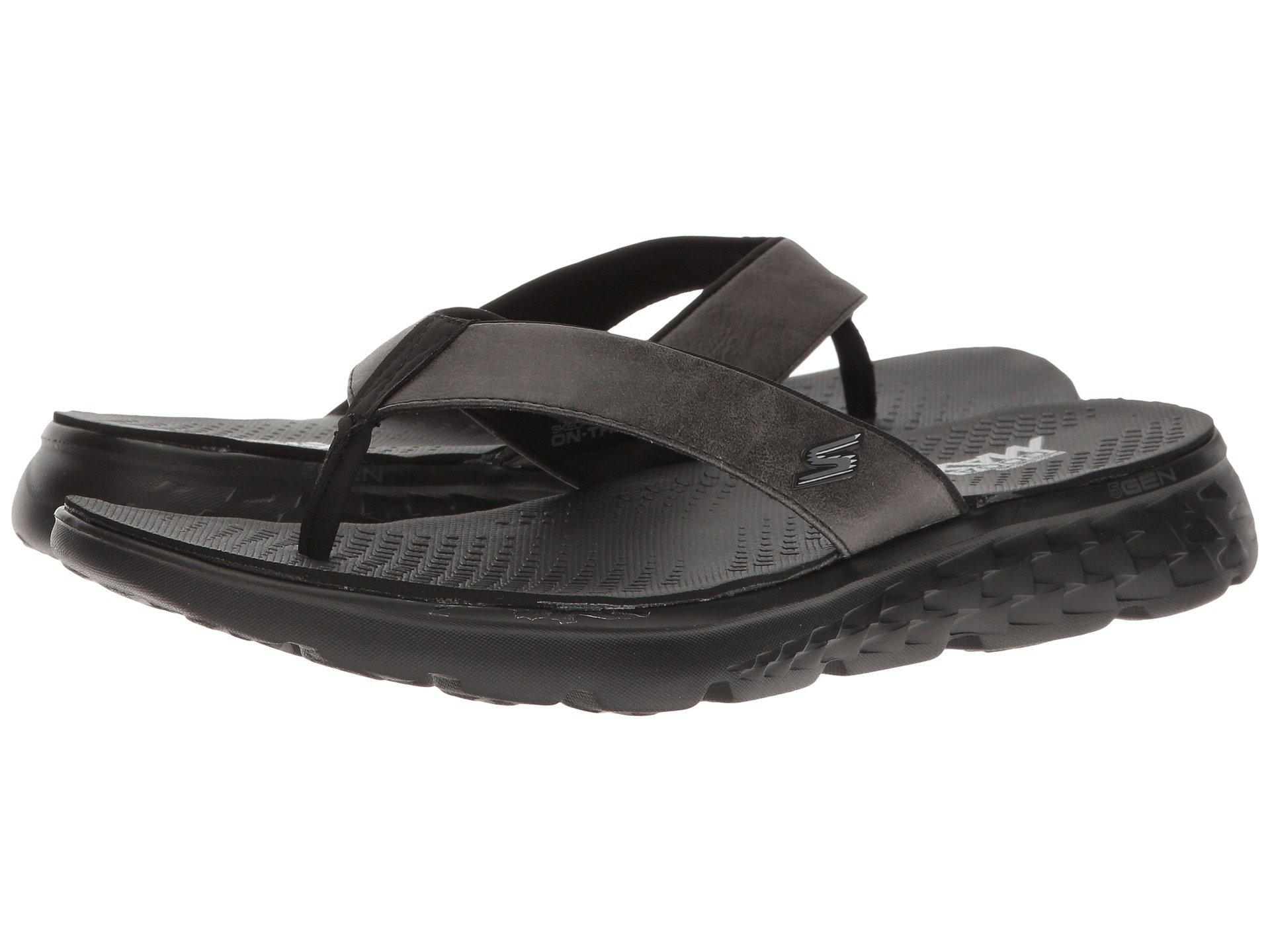 d3a6ba46432e Lyst - Skechers On-the-go 400 (black) Men s Sandals in Black for Men