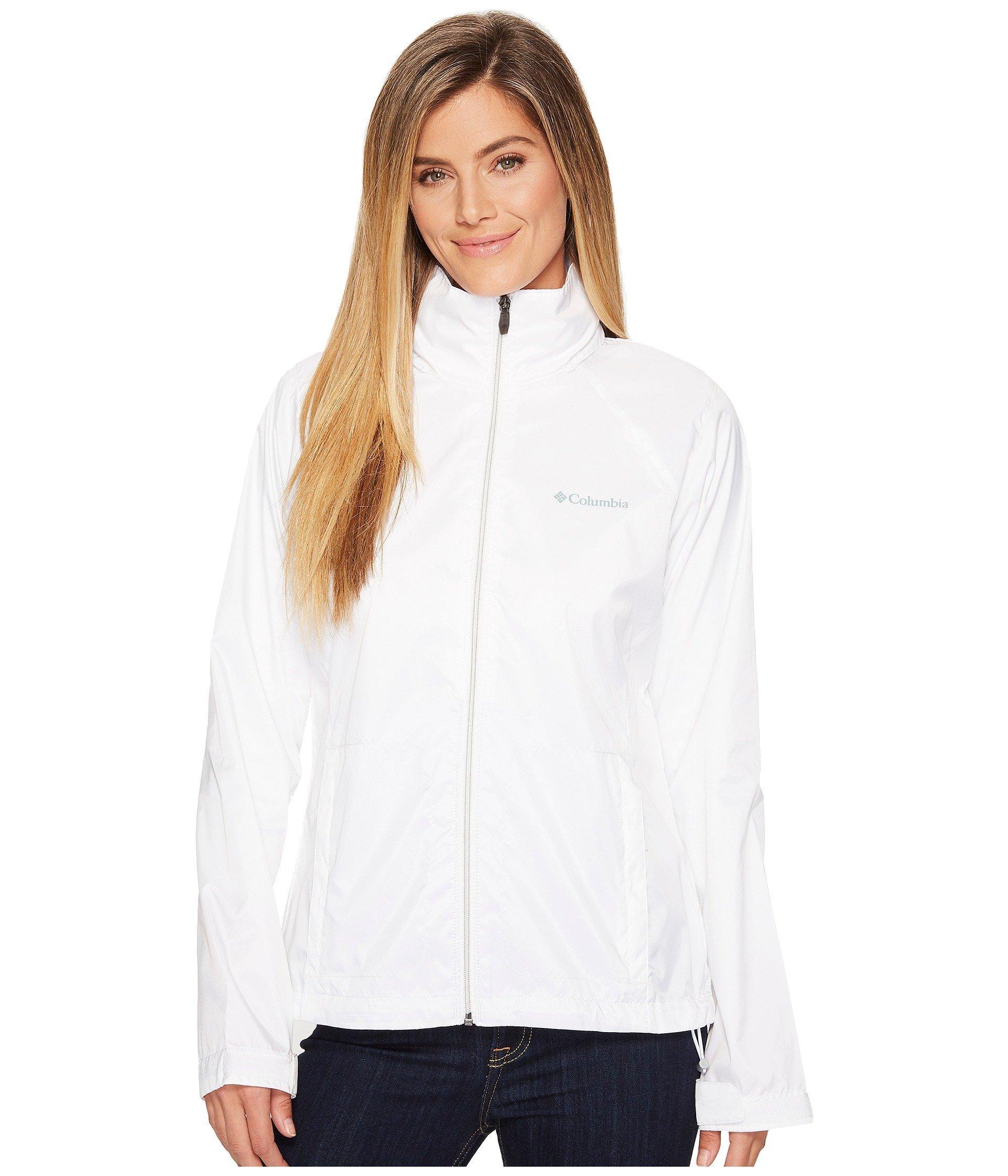 d188ae0f30a Columbia - White Switchback Iii Jacket (black) Women s Coat - Lyst. View  fullscreen