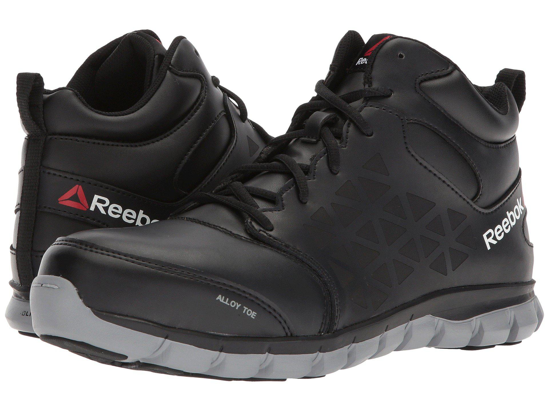 Cushion Mid Lyst Eh Boots Reebok Work black Sublite Men s rxw7EFqw d7bdb3d8a