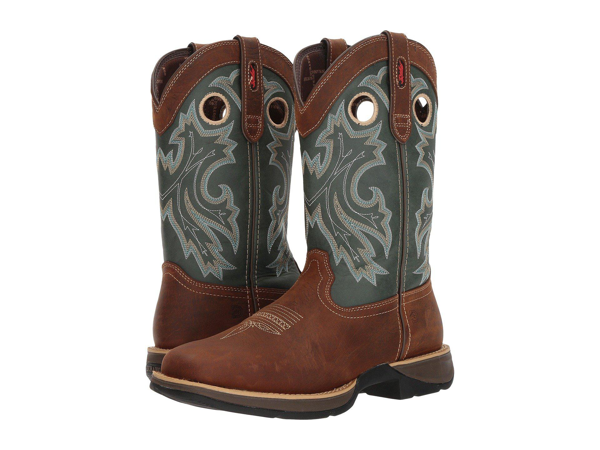 fdd295da609 Durango Brown Rebel By Steel Toe Pull-on Western Boot for men