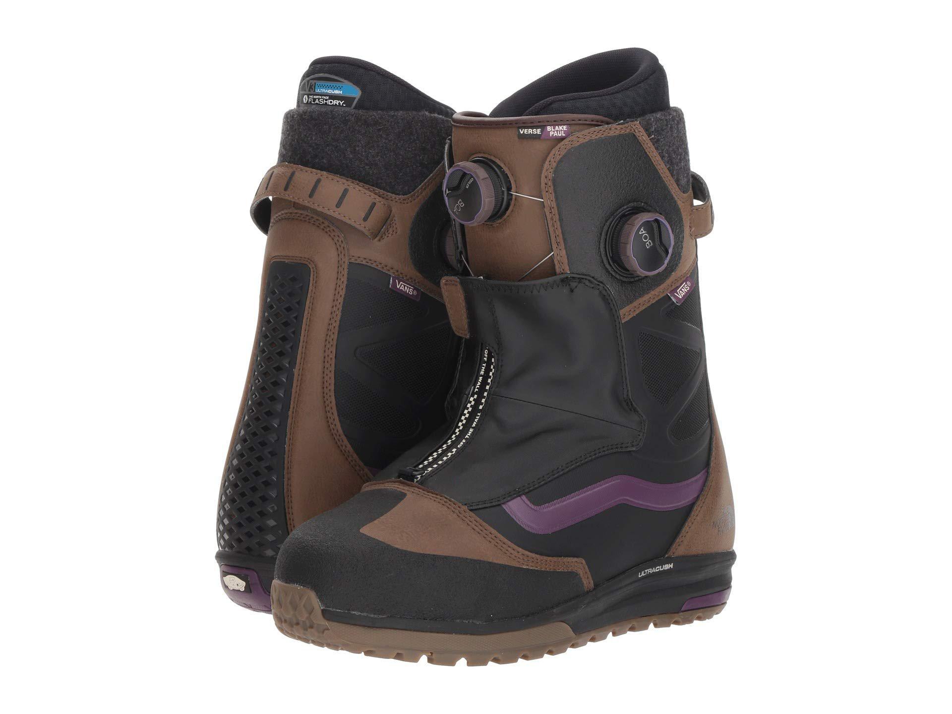 49e918aa04 Lyst - Vans Versetm  18 (brown purple (tnf blake Paul)) Men s Snow ...