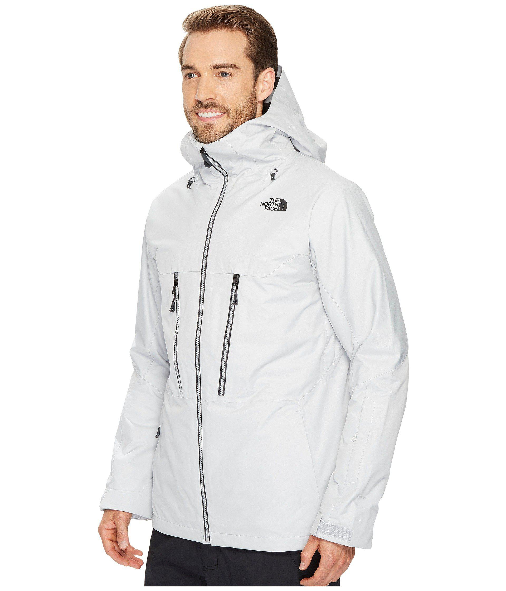 8dbc764d4 Men's Gray Thermoball Snow Triclimate Jacket