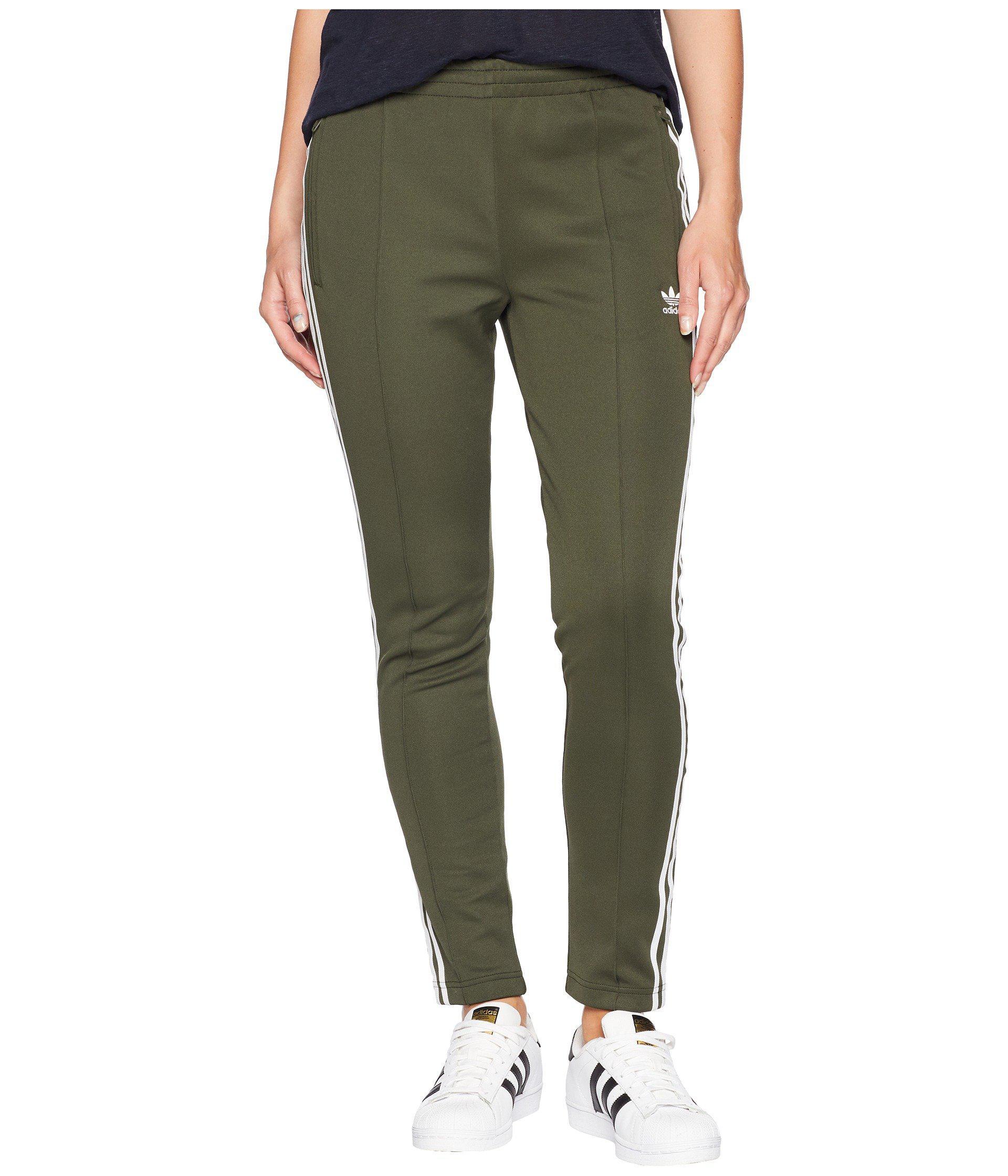 Sst Track Pants in Night Cargo Green