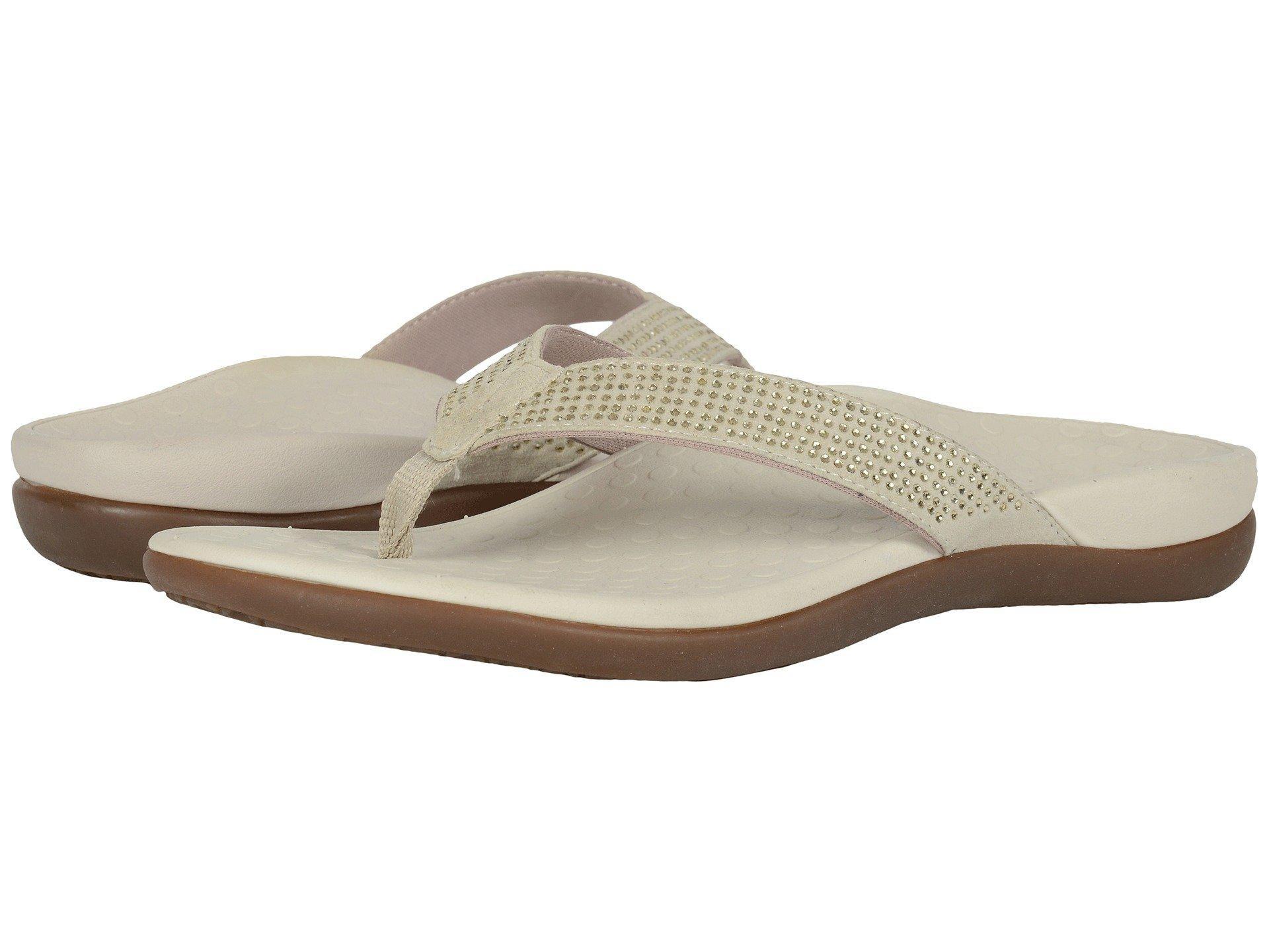 e4c03c52971f Lyst - Vionic Tide Rhinestone (black) Women s Sandals in Metallic