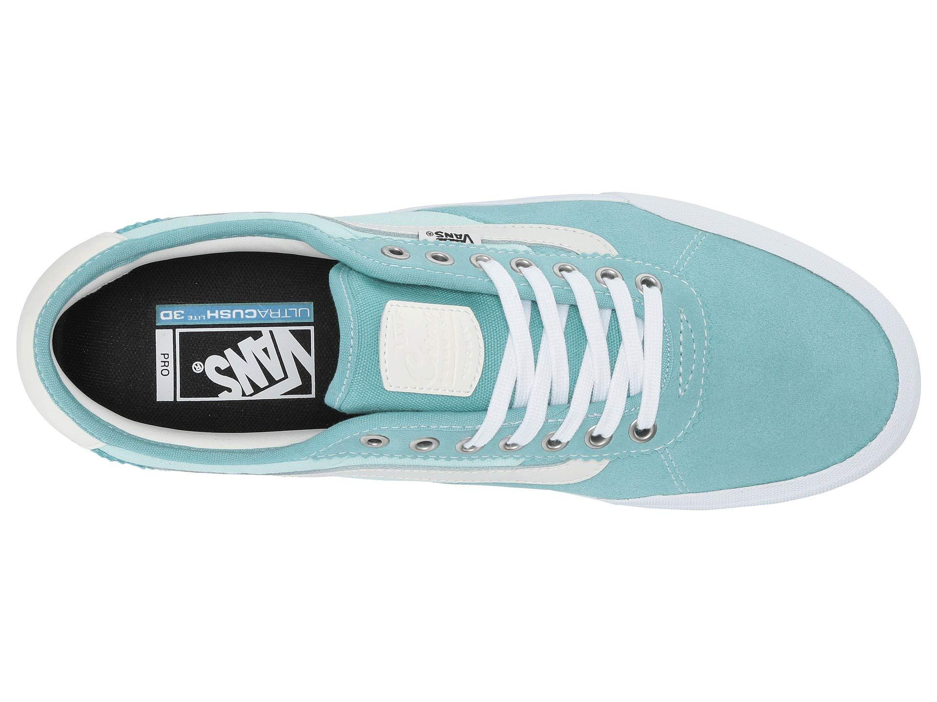 10adb1fed0a Vans - Blue Chima Pro 2 ((suede canvas) Black white). View fullscreen
