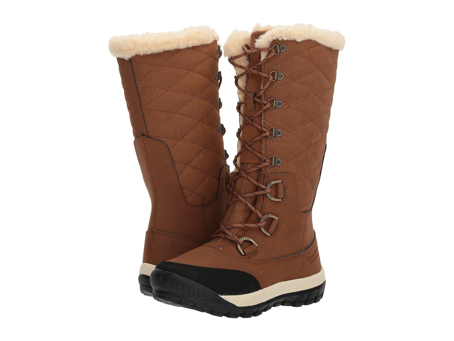27aa51d78b0 Lyst - BEARPAW Isabella (hickory) Women's Boots in Brown
