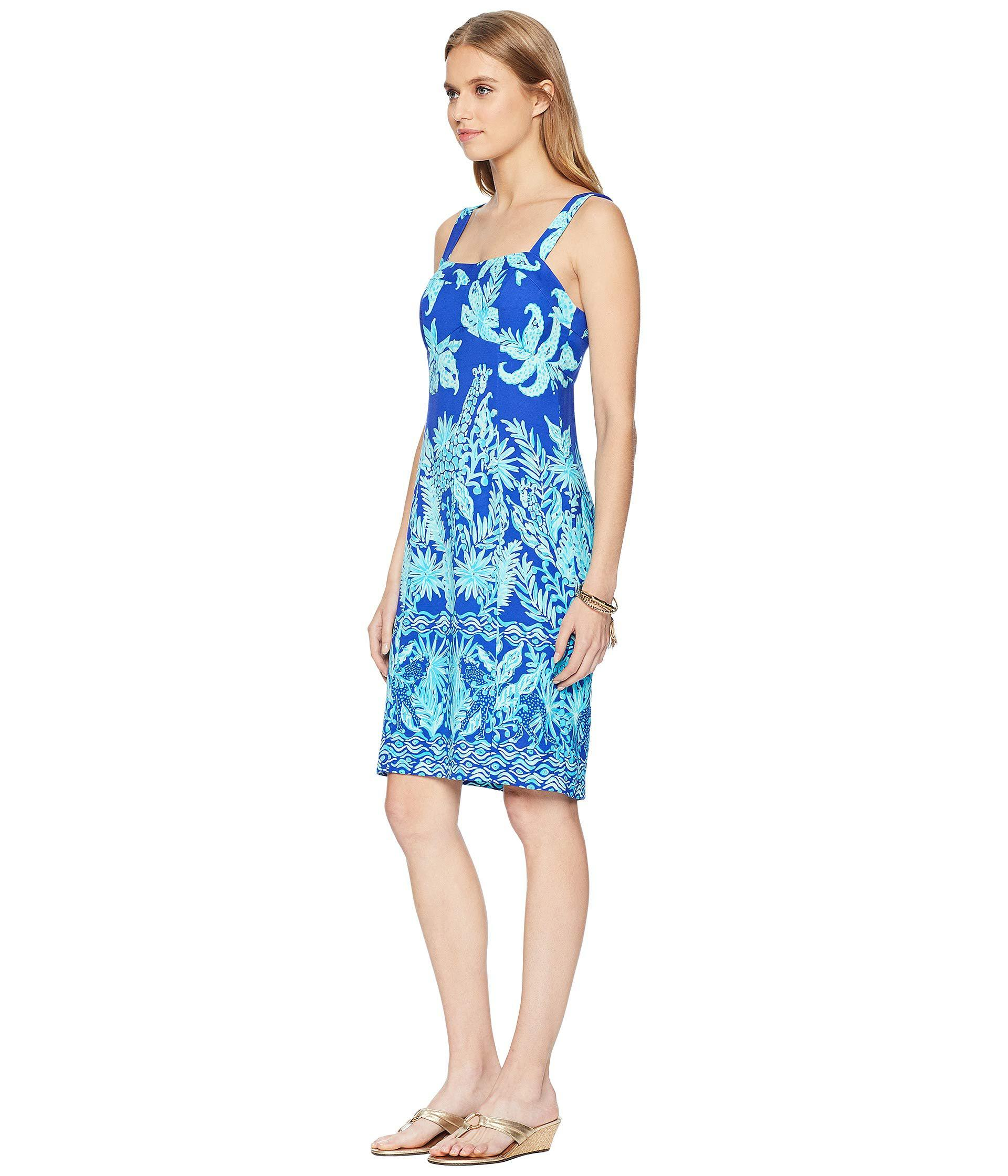 acd7ce07007a Lyst - Lilly Pulitzer Annalee Stretch Dress (royal Purple Jungle ...