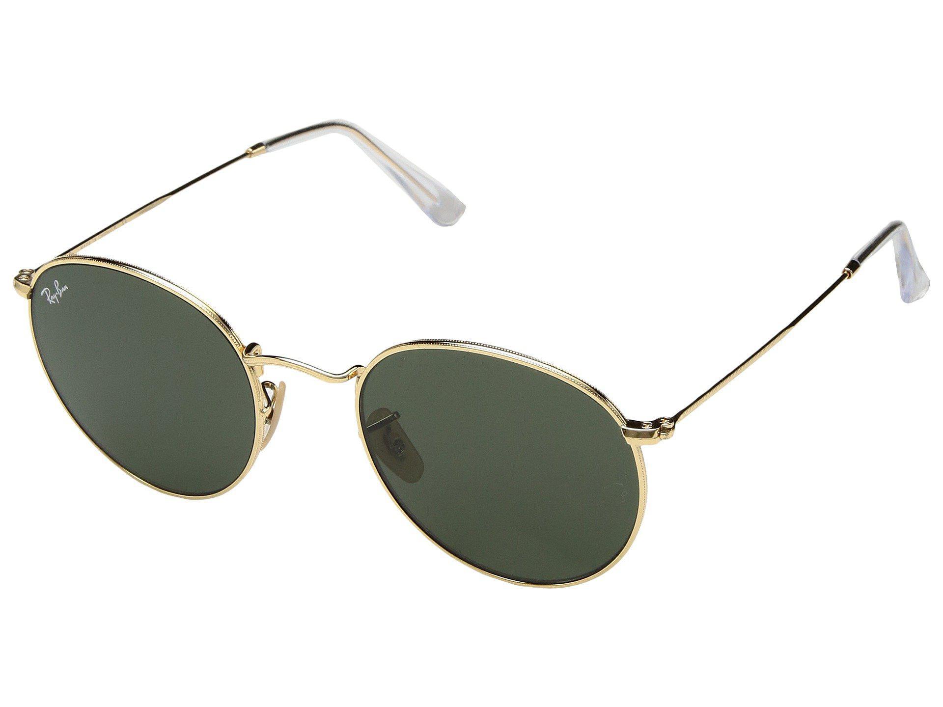 b79289fc0193 Lyst - Ray-Ban Rb3447 53mm (arista Gold light Blue Gradient) Fashion ...
