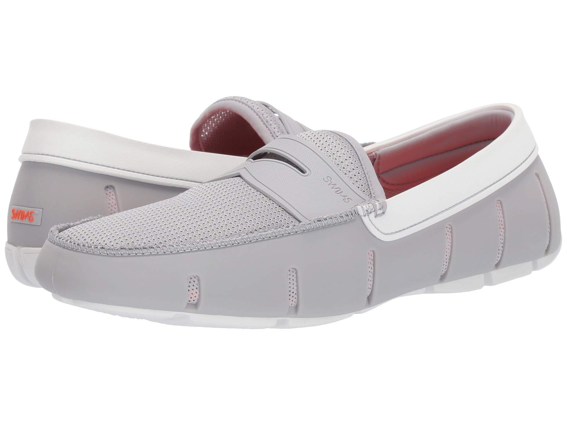 57b5d4e4edc Lyst - Swims Penny Loafer (black) Men s Shoes in White for Men