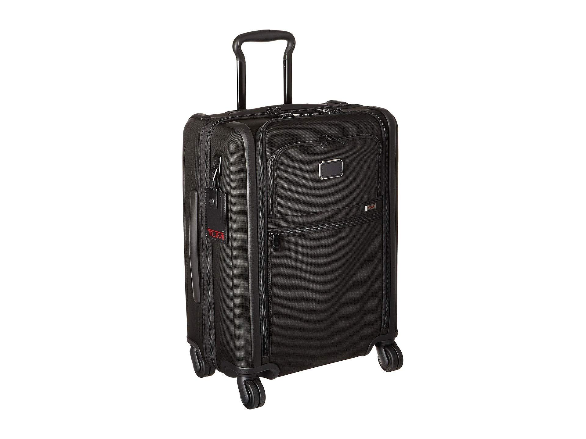 1228fedd7e7d Lyst - Tumi Alpha 3 Continental Expandable 4 Wheeled Carry-on (black ...