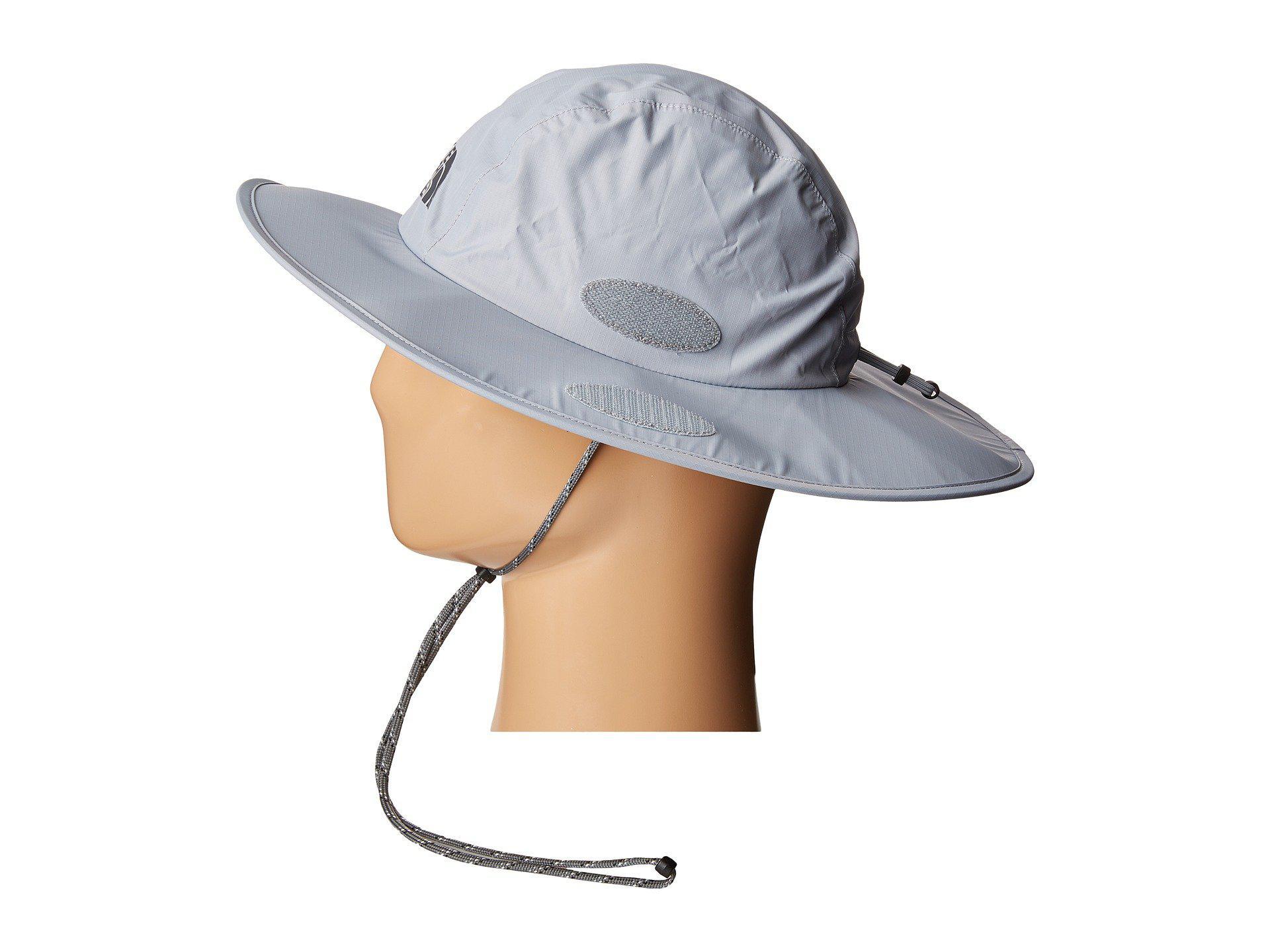 fb25f8692 The North Face Gray Dryvent Hiker Hat (mid Grey/asphalt Grey (prior  Season)) Bucket Caps for men