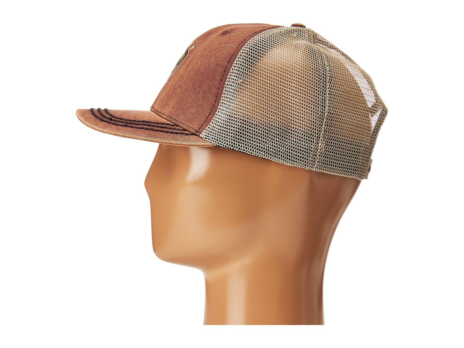 Ariat Western Hat Cap Mens Baseball Snap Back Adjustable Oil Skin Navy 1509502