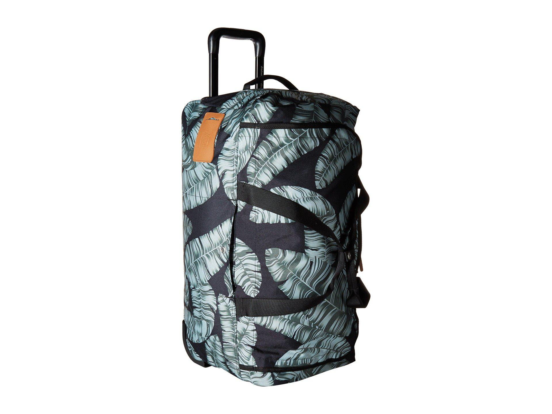 Lyst - Herschel Supply Co. Wheelie Outfitter (black Palm) Carry On ... 72f323f26f