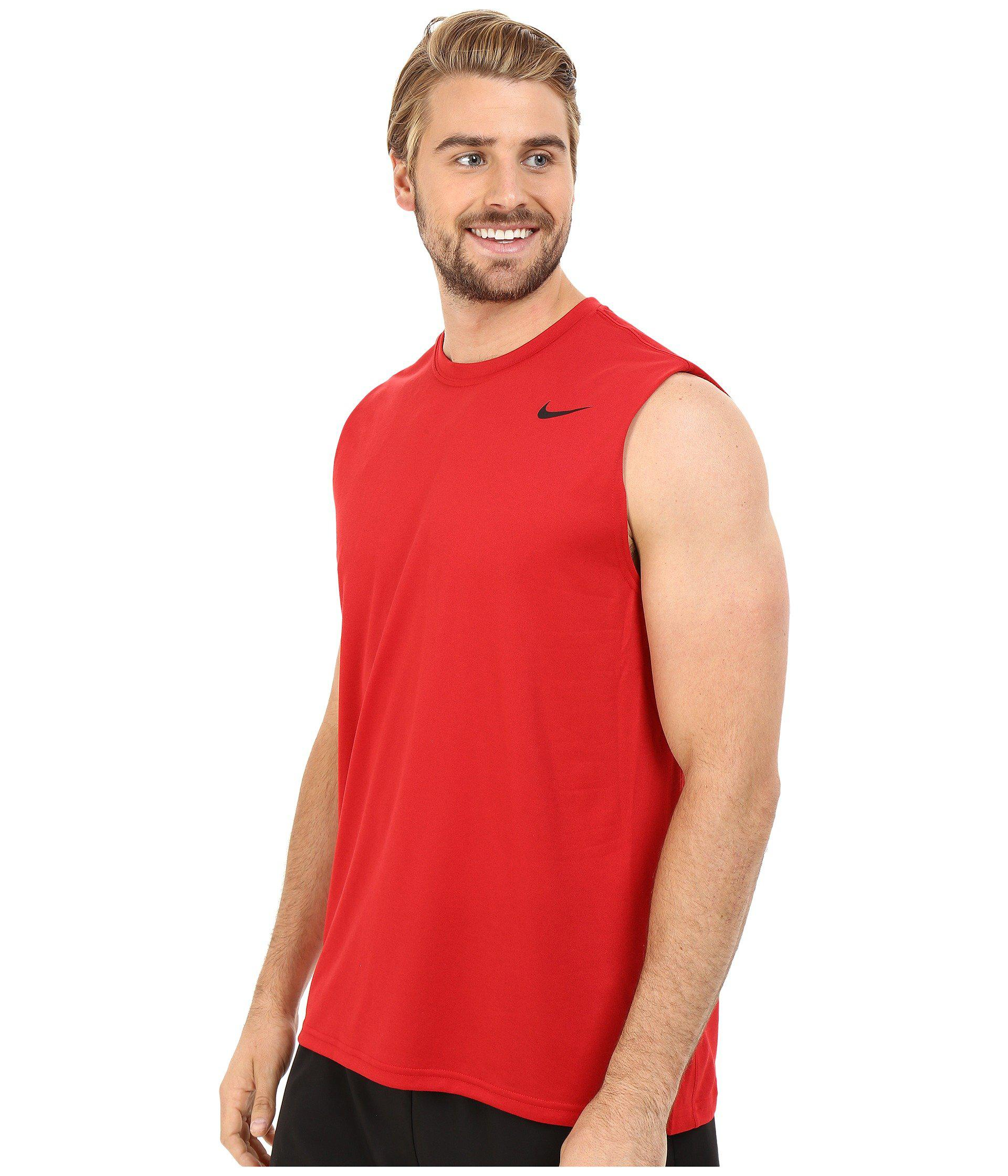 cc7745b731e23 Sleeveless Tee Gym – Rockwall Auction