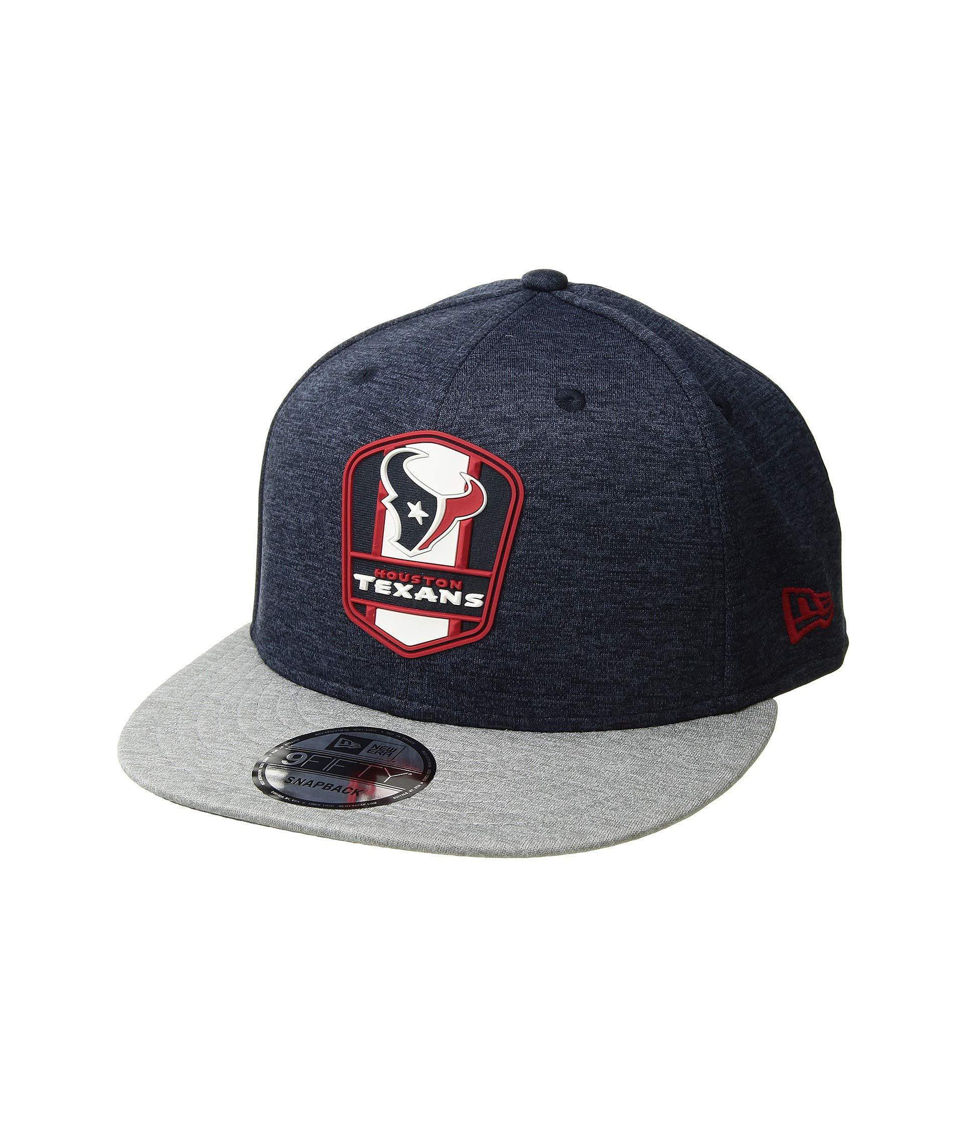 Lyst - Ktz 9fifty Official Sideline Away Snapback - Houston Texans ... bf740e903145