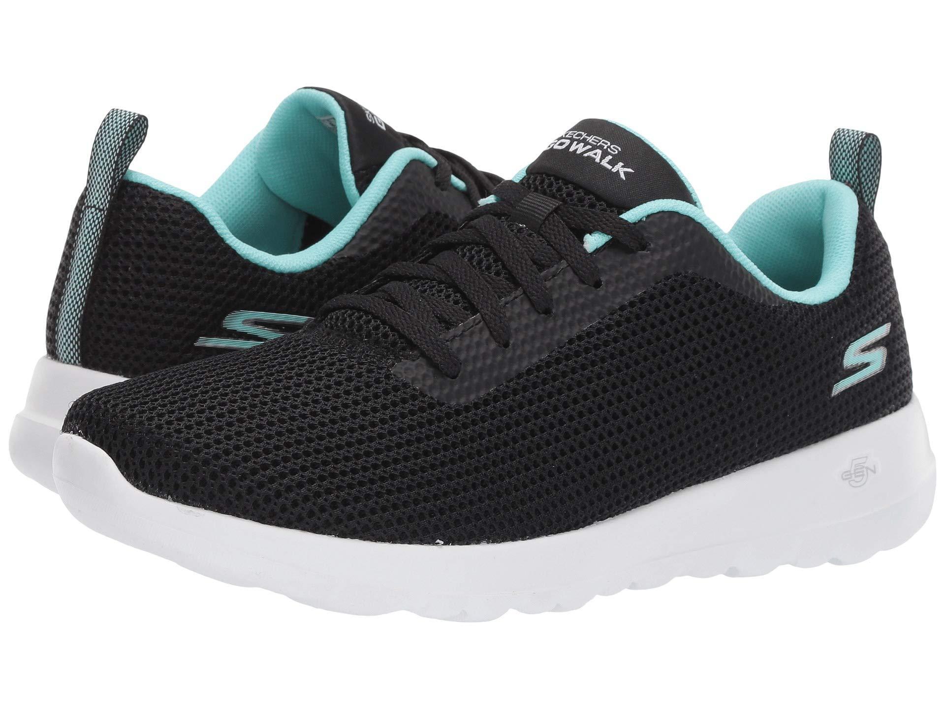 new product a99d6 10bf5 Lyst - Skechers Go Walk Joy - 15641 (navy pink) Women s Shoes in Black