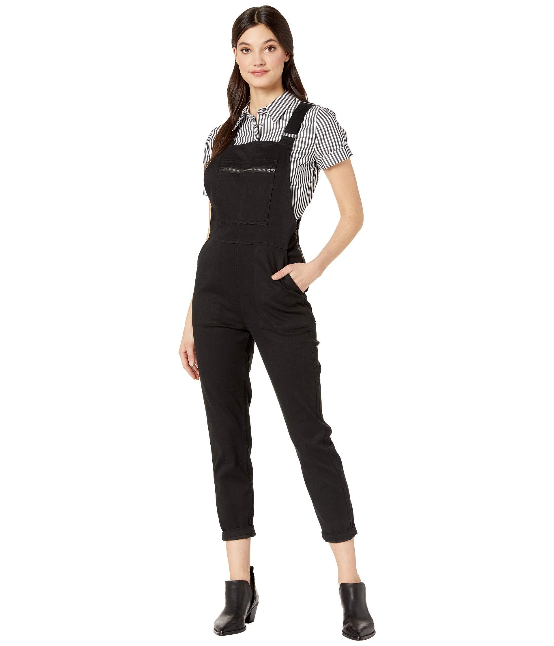 165555a2bb88 Lyst - RVCA Peace Mission Pants (black) Women s Jumpsuit   Rompers ...