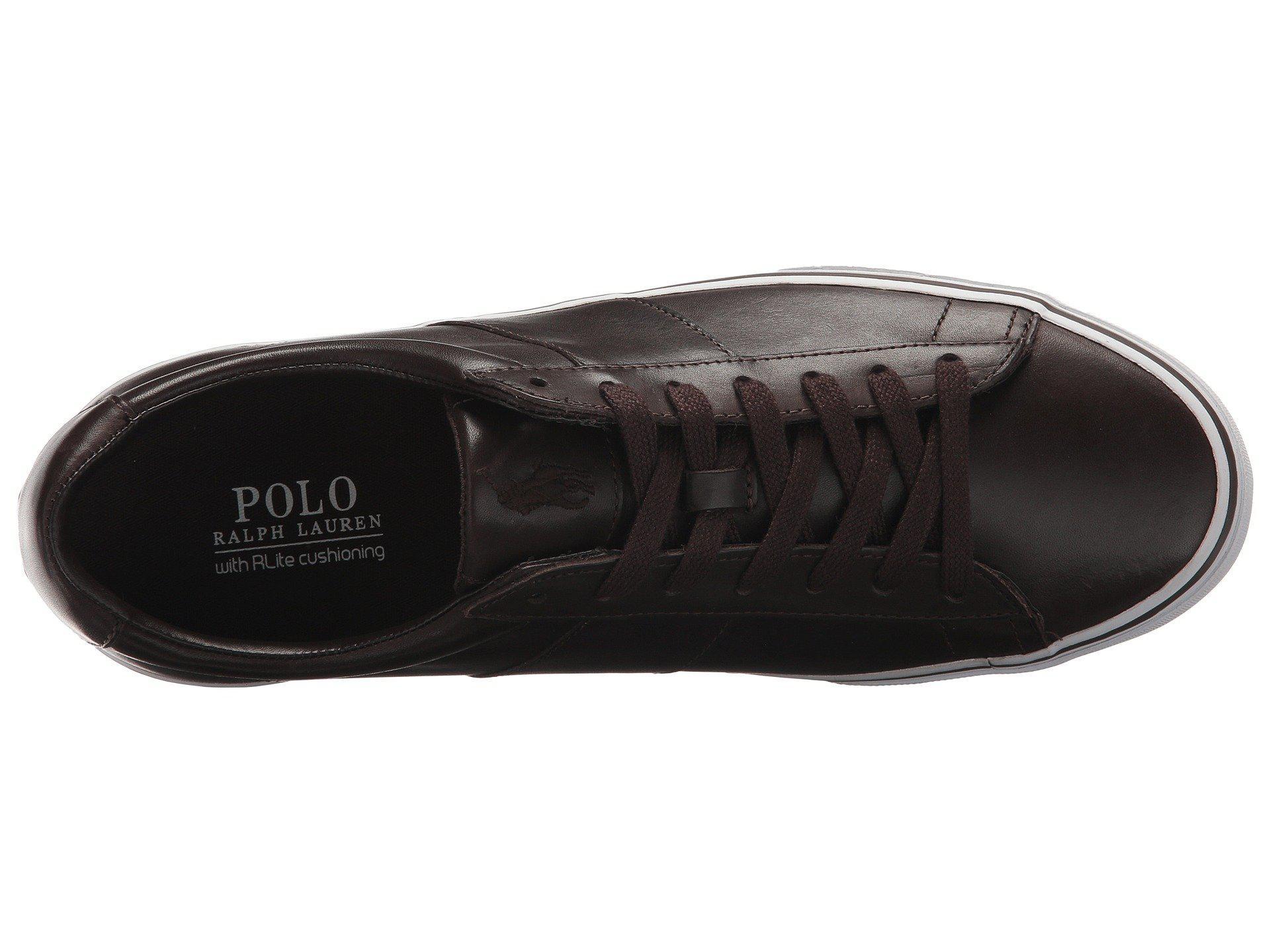 86b49cfe4fe Lyst - Polo Ralph Lauren Sayer (ralph Lauren 2000 Red) Men s Shoes ...
