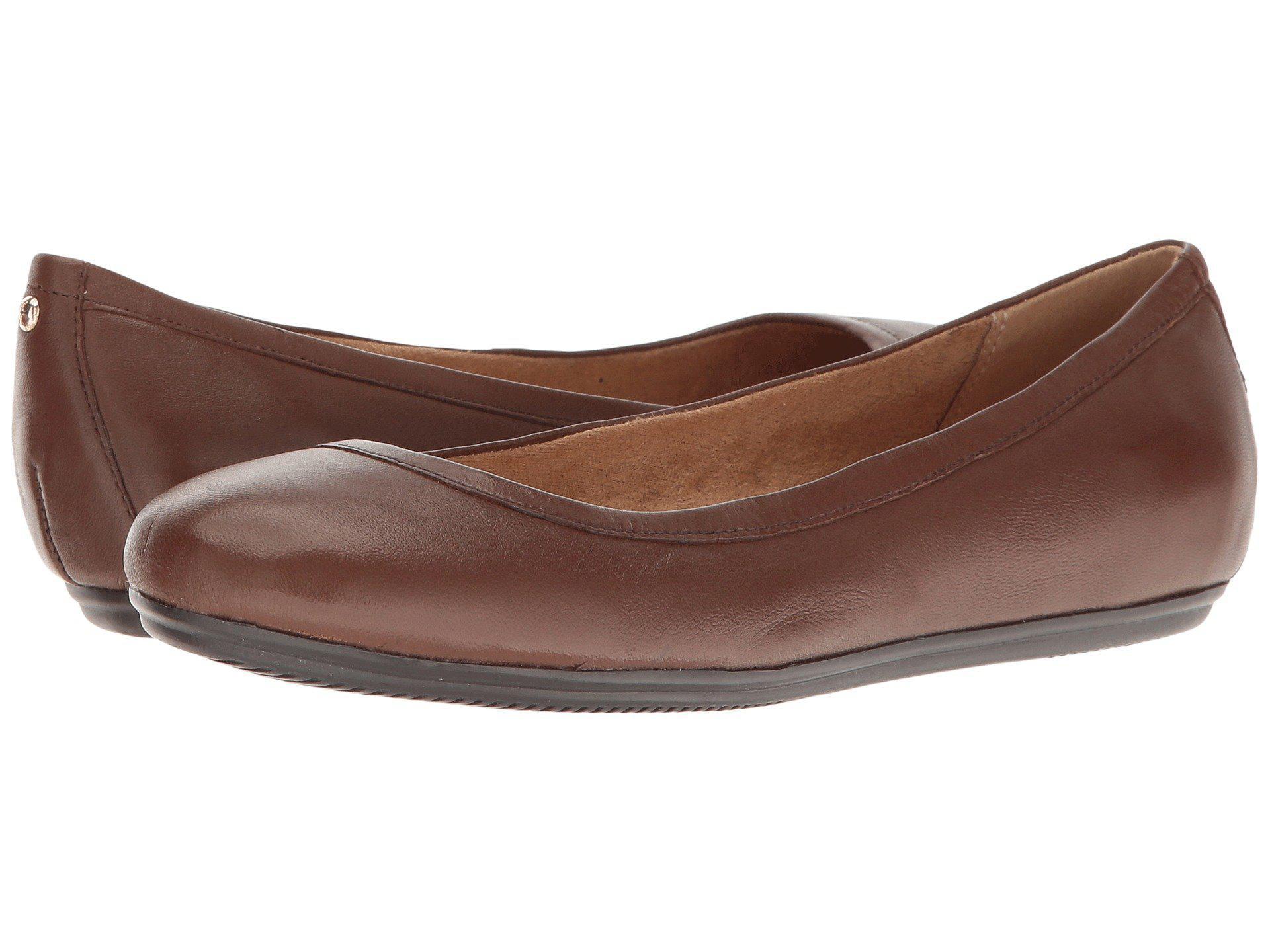 e83e0e0fe06b Lyst - Naturalizer Brittany (black Suede) Women s Flat Shoes in ...