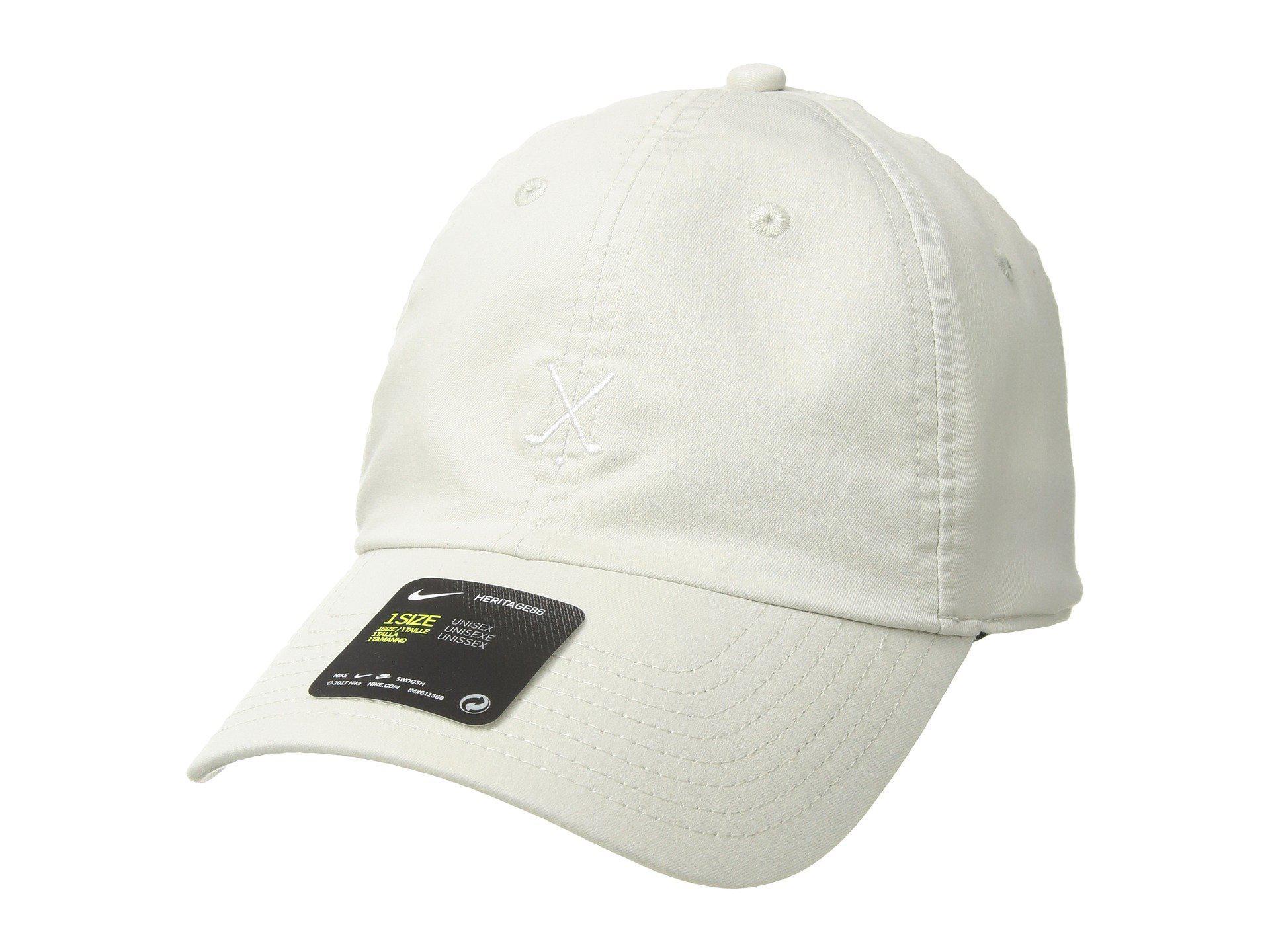 a76c12f91c350d Lyst - Nike H86 Cap Washed (light Bone/black Oxidized/white) Caps in ...