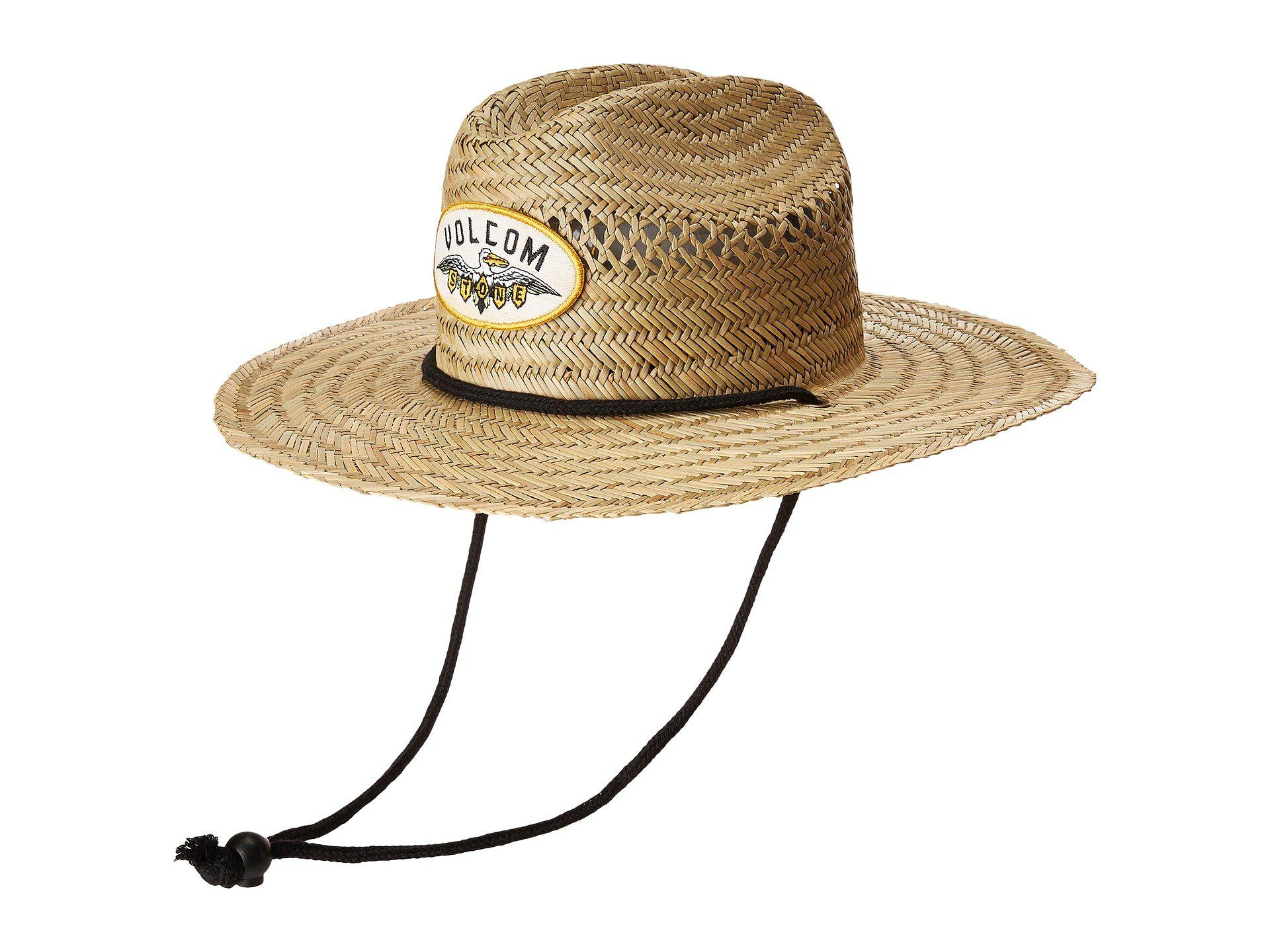 cc0b2080c5de7 Volcom Hellican Straw Hat in Natural - Lyst