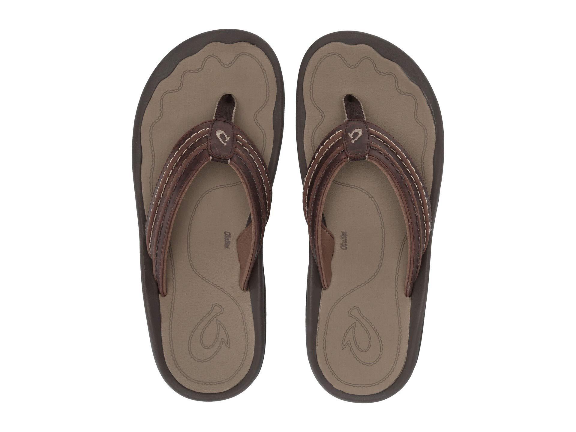 fb0f0babf72 Lyst - Olukai Hokua  ale (black charcoal) Men s Sandals in Brown for Men