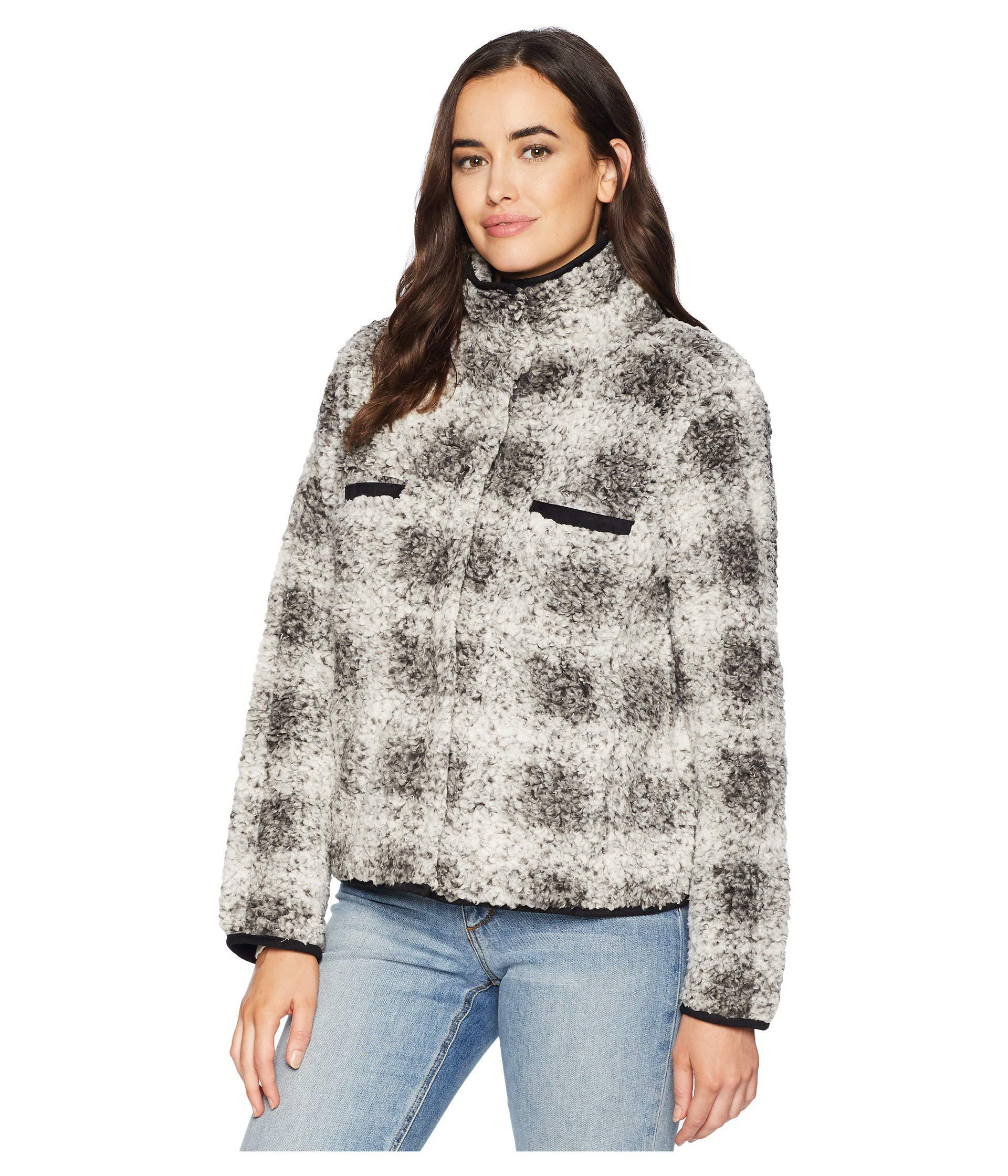 Dylan By True Grit Synthetic Soft Tip Shearling Box Plaid ...