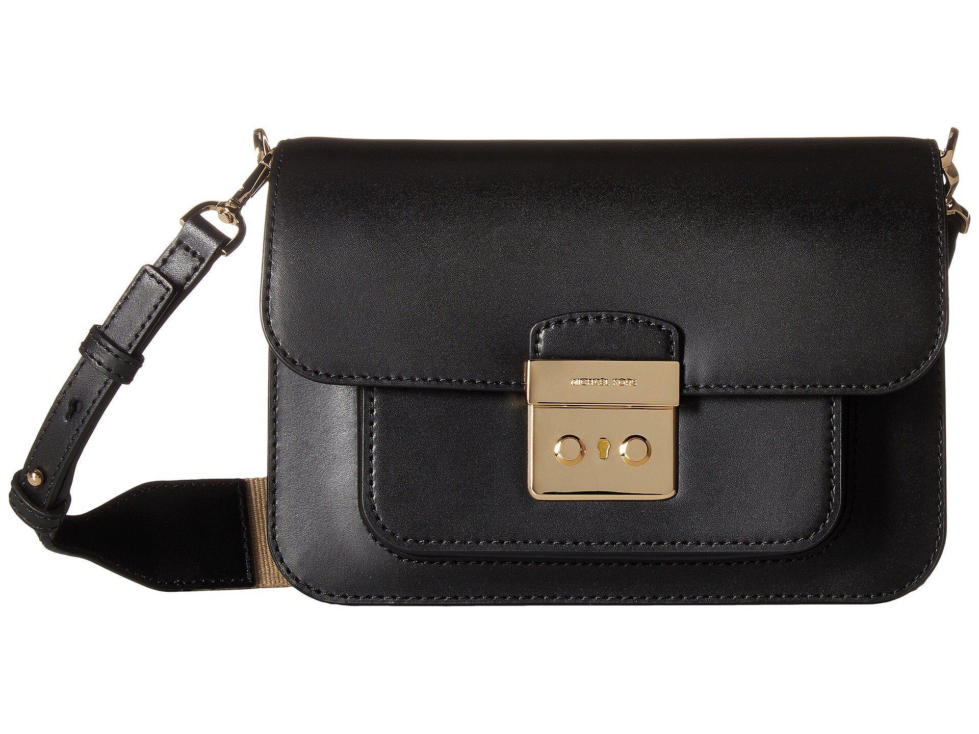 8e4a18bbec1b MICHAEL Michael Kors. Women's Sloan Editor Large Shoulder (black) Shoulder  Handbags