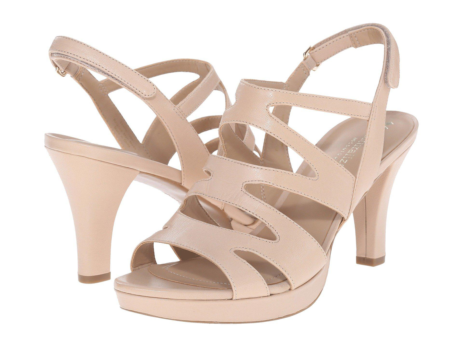 2916d7325e2 Lyst - Naturalizer Pressley (taupe Leather) High Heels in Brown