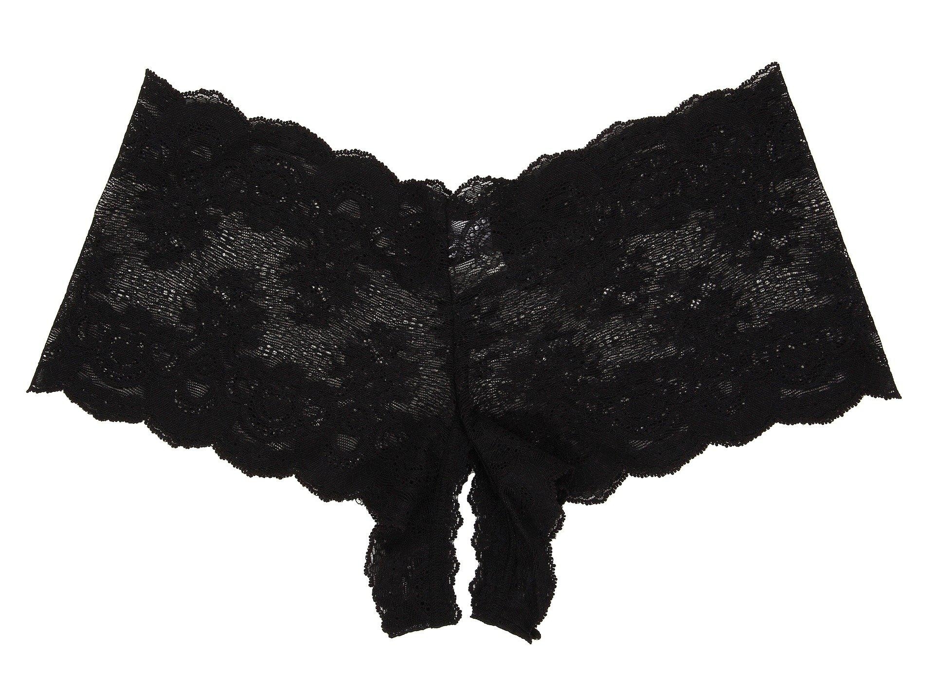 92ebf78d56b Hanky Panky Luxe Lace Crotchless Brief (ivory) Women s Lingerie in ...
