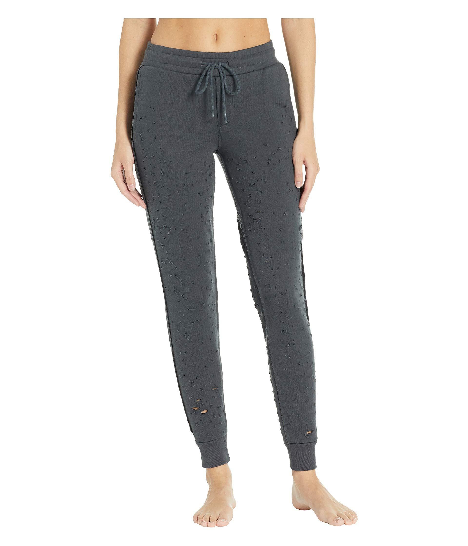 6cbc51b359 Alo Yoga Fierce Sweatpants (black) Women's Casual Pants in Gray - Lyst