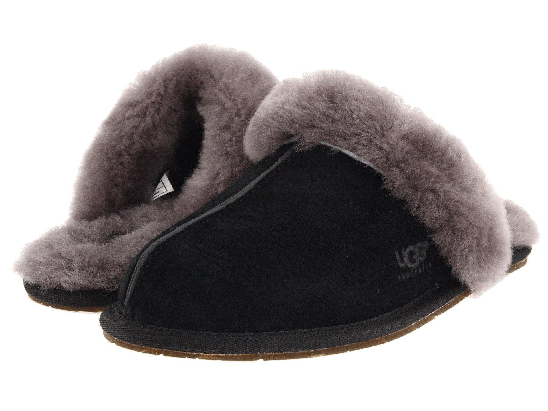 518867dee9c5 UGG. Black Scuffette Ii Water-resistant Slipper (espresso (suede)) Women s  Slippers