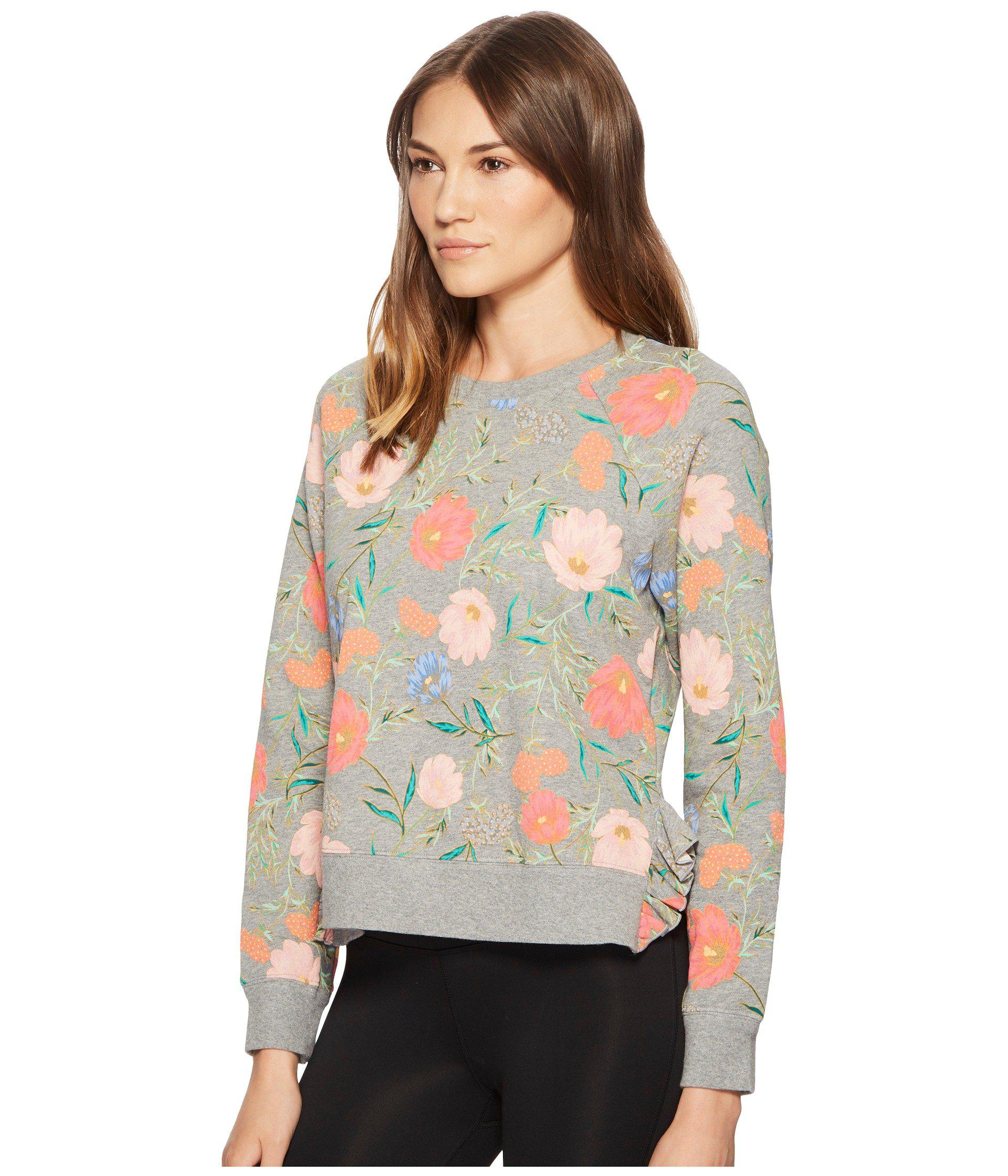 a12ff0fe0d2 Kate Spade Blossom Crop Pullover - Lyst