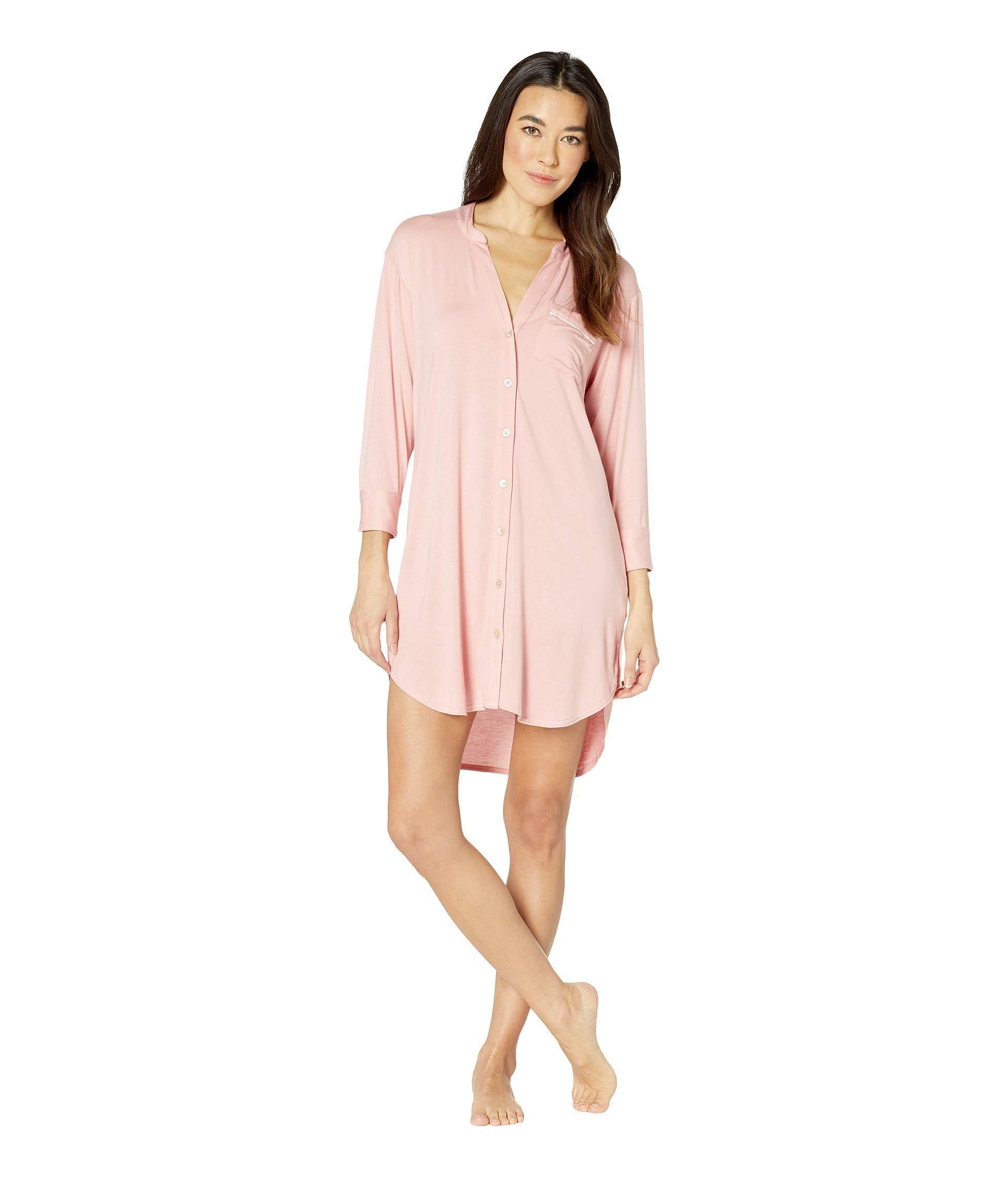 a8986c60d3 Lyst - UGG Vivian Knit Sleepshirt (pink Dawn) Women s Pajama in Pink