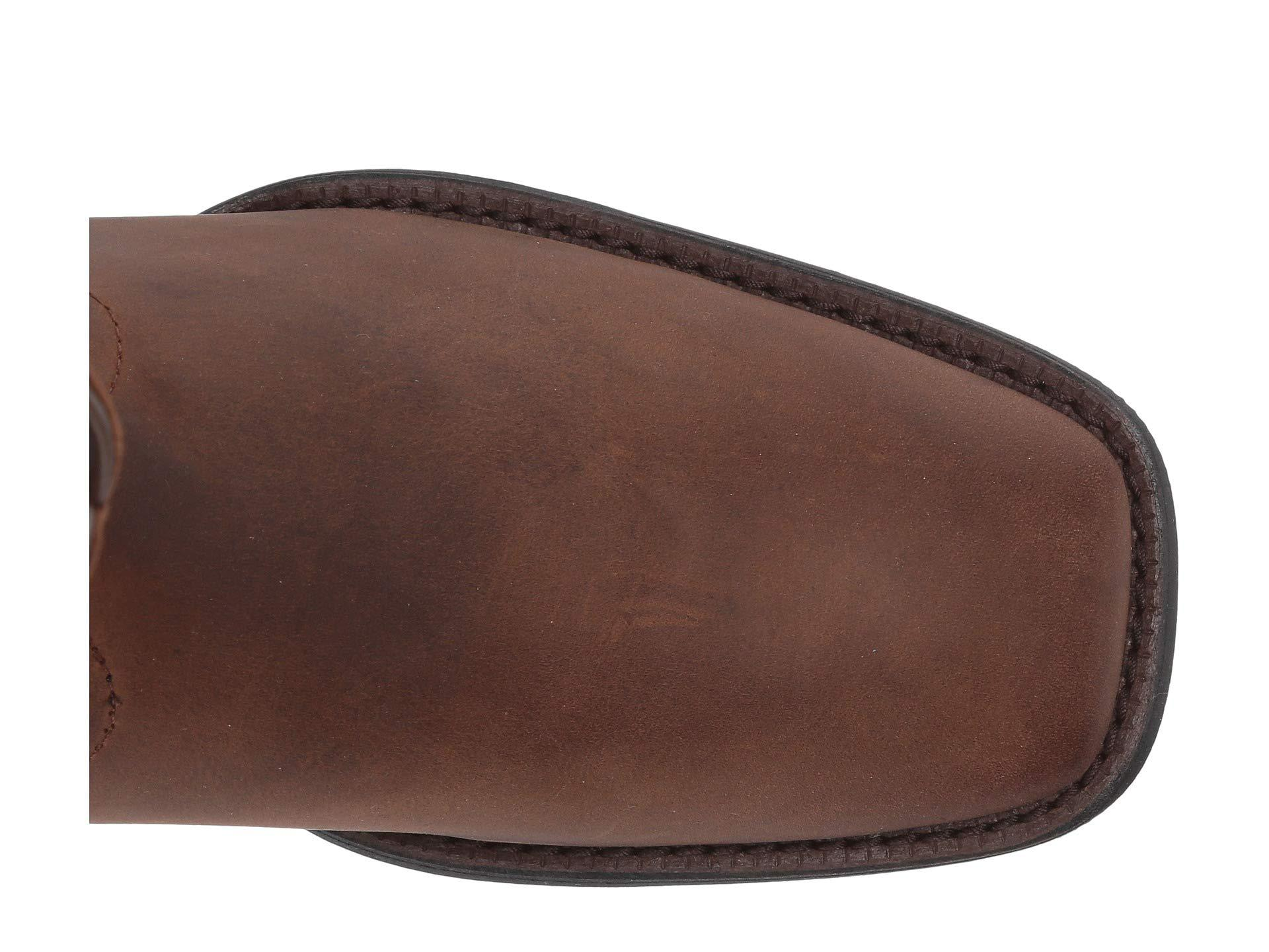 3e1cea5fae9 Lyst - Ariat Roper Wide Square Toe (distressed Brown) Cowboy Boots ...