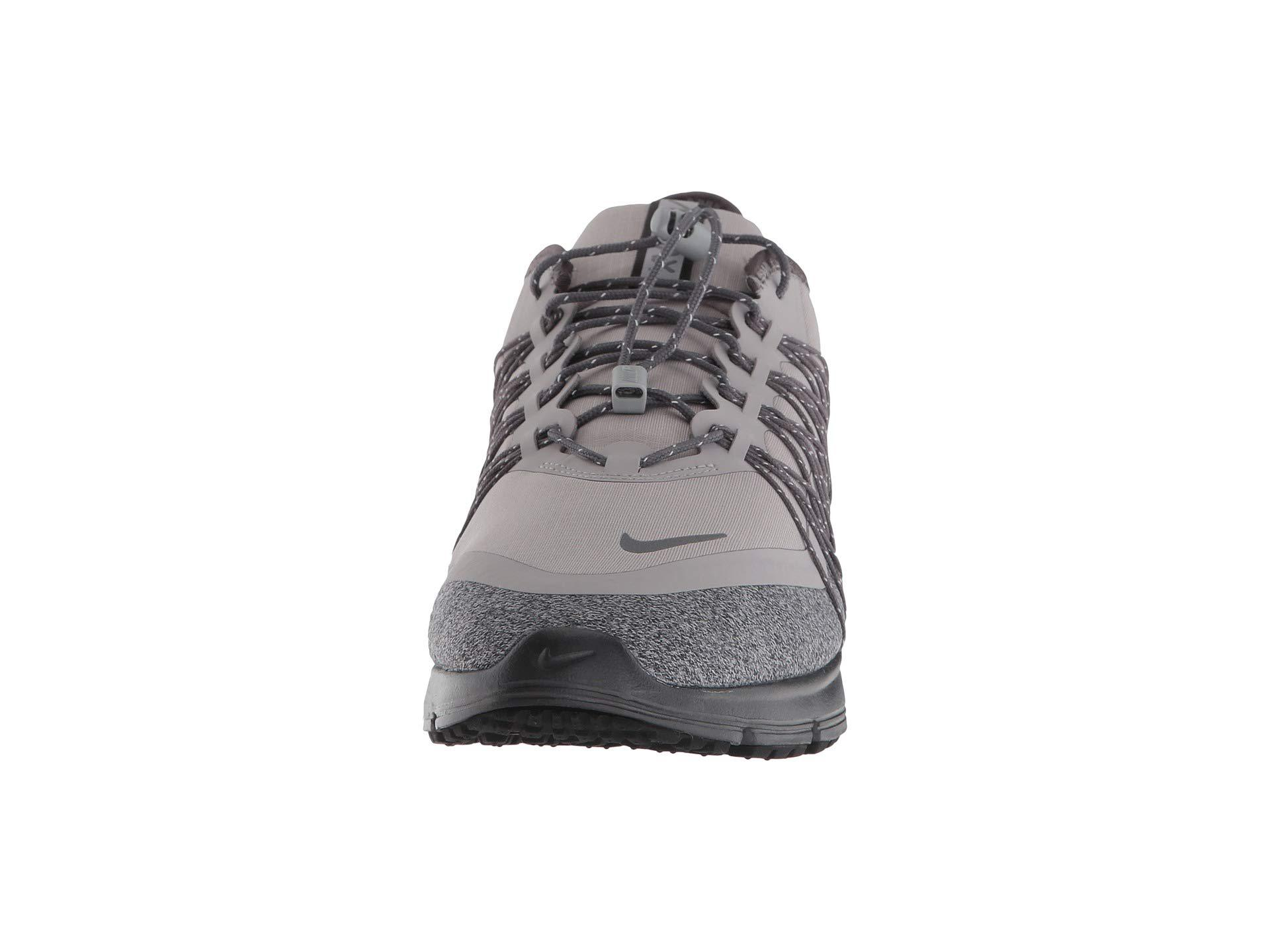 Nike Gray Air Max Sequent 4 Shield (dark Greymetallic Silverblack) Running Shoes