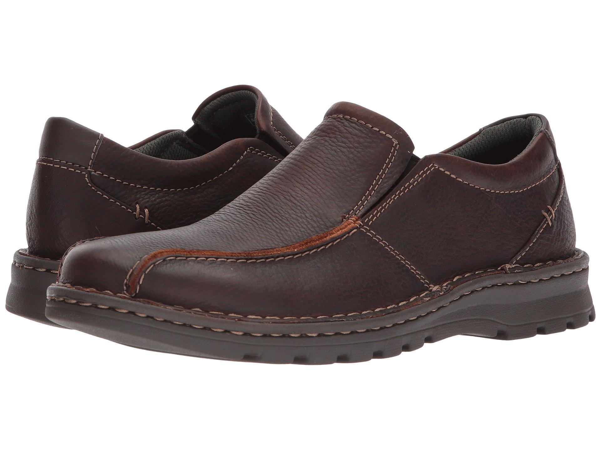 32133487027 Lyst - Clarks Vanek Step (black Oily Leather) Men s Shoes in Brown ...