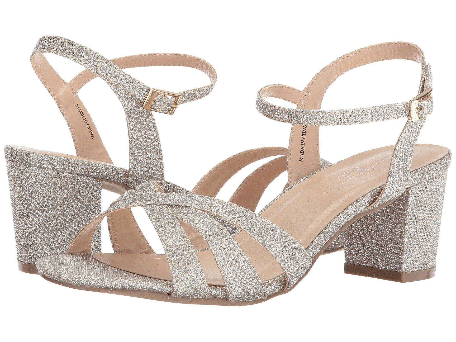 9ede89b6a23 Lyst - Paradox London Pink Colette (champagne) Women s Shoes