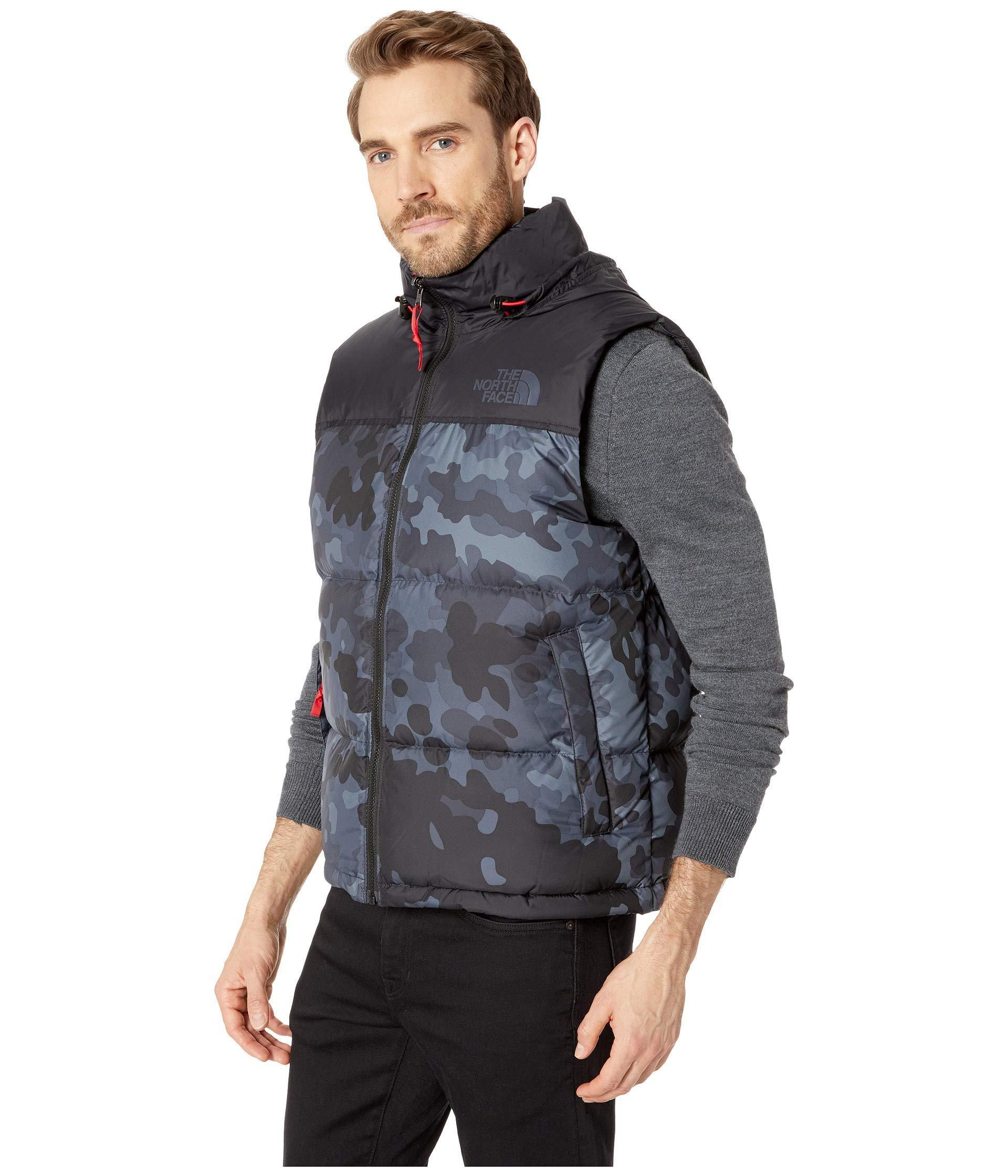 79973bc953 Lyst - The North Face 1996 Retro Novelty Nuptse Vest (tnf Black Multi  Dobby) Men s Vest in Black for Men