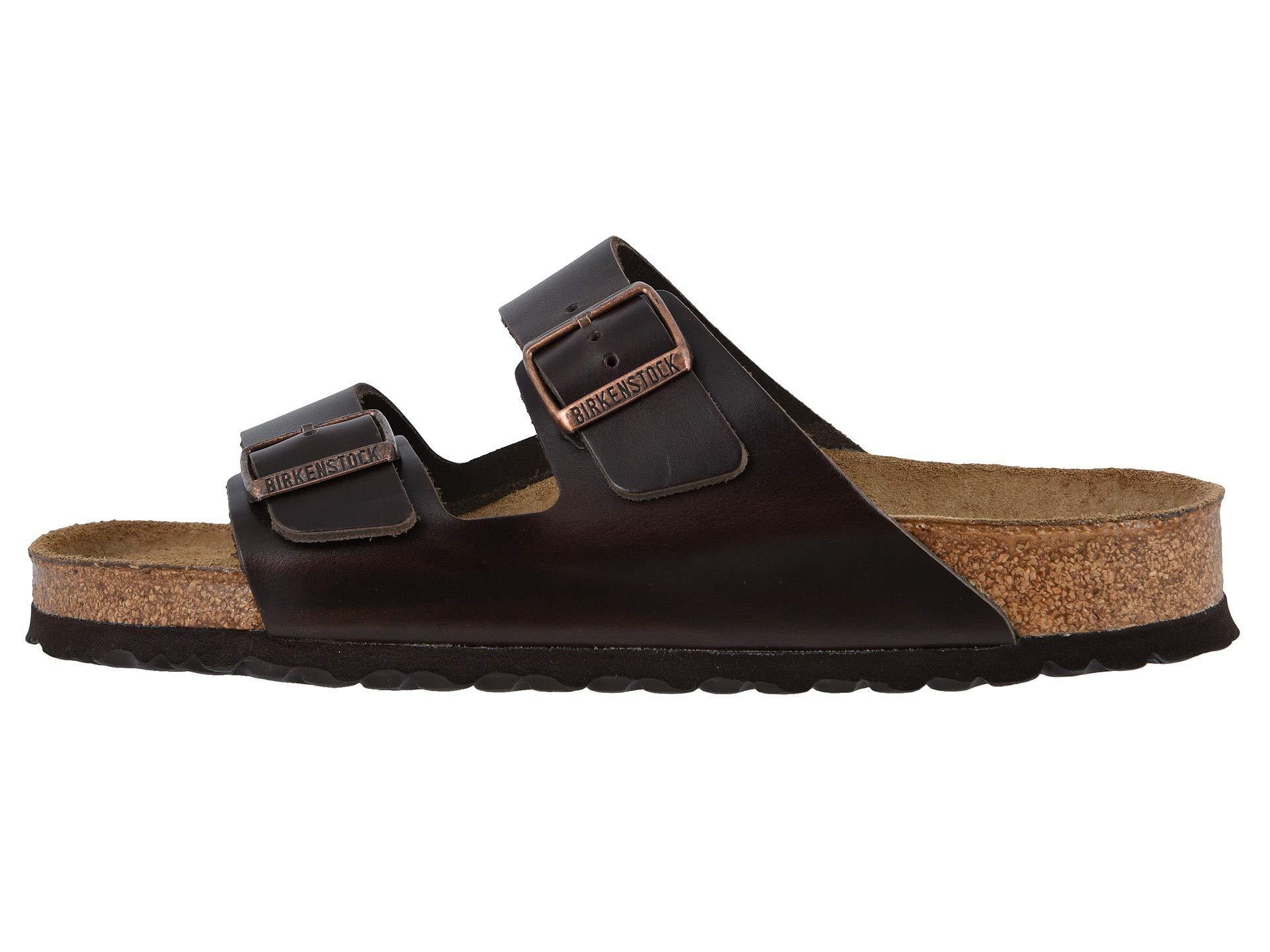 Birkenstock Arizona Soft Footbed Leather Unisex Black