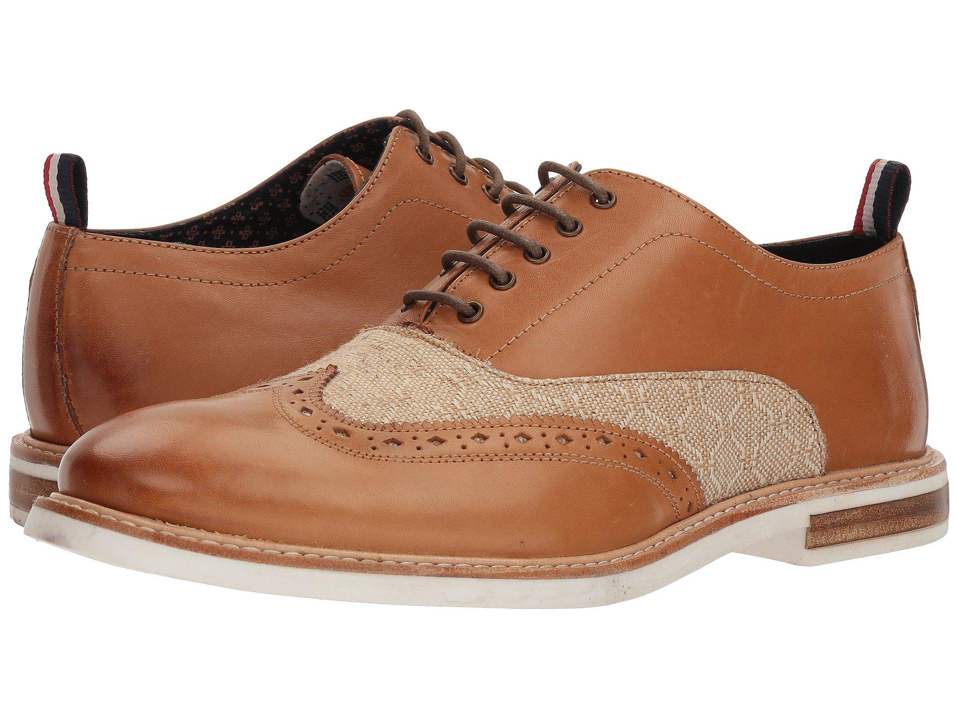 013479b4450 Lyst - Ben Sherman Birk Short Wing Tip (cognac) Men s Lace Up Wing ...