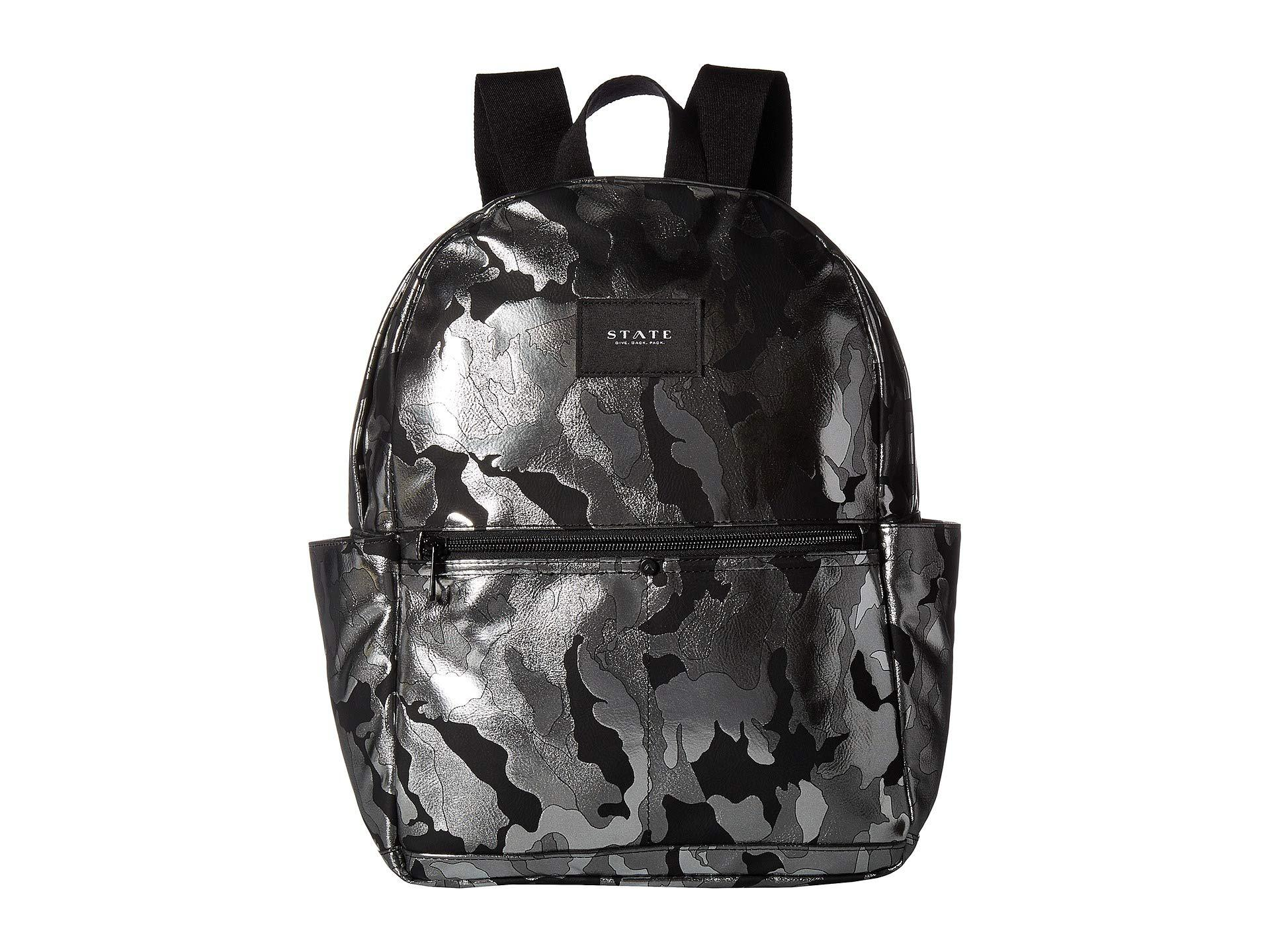 f0ed5b5d7e3e Lyst - State Bags Metallic Camo Williams P Backpack (black Camo ...