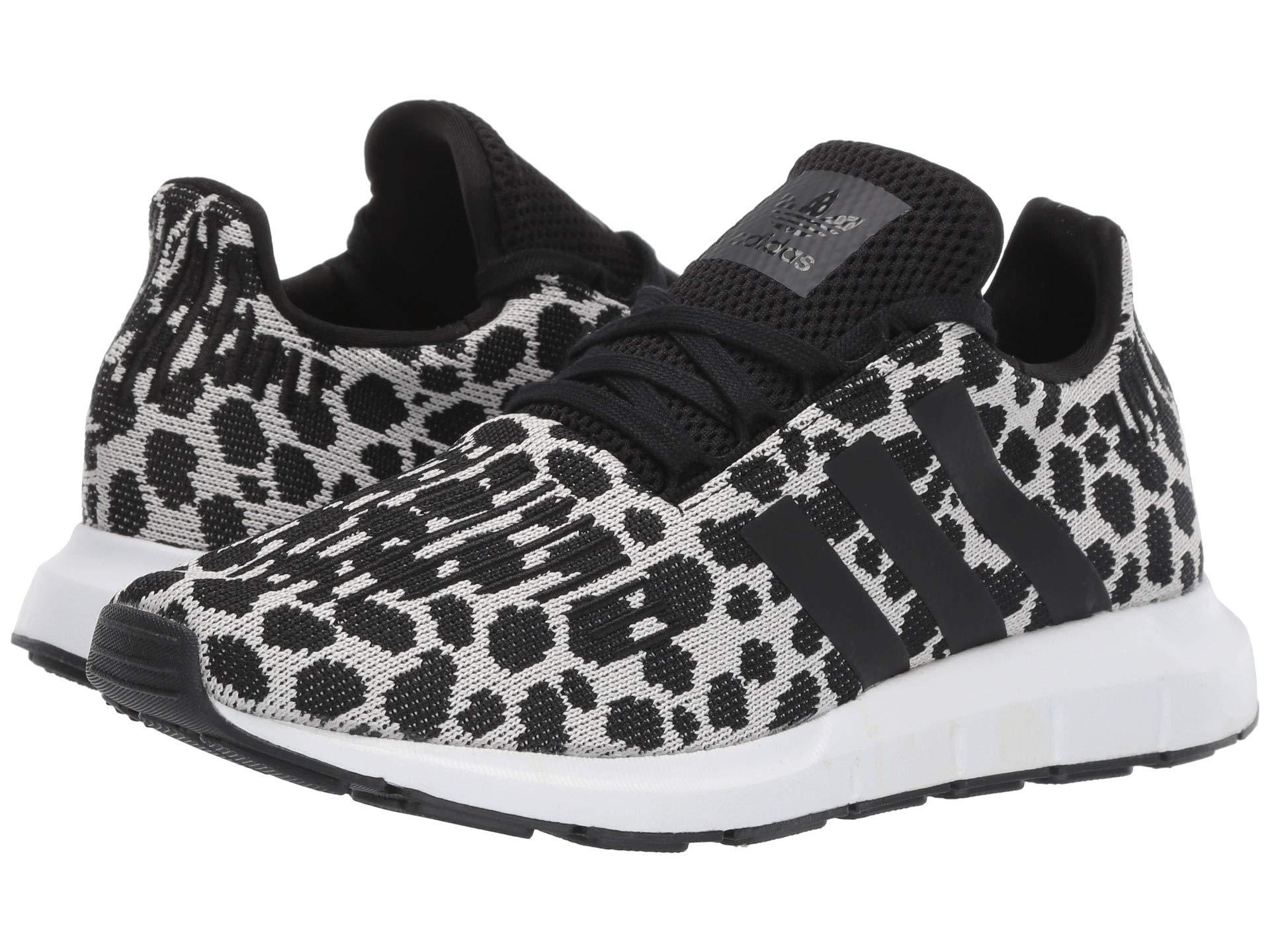 Adidas Originals Rubber Swift Run W Black Carbon White Women S Shoes Lyst